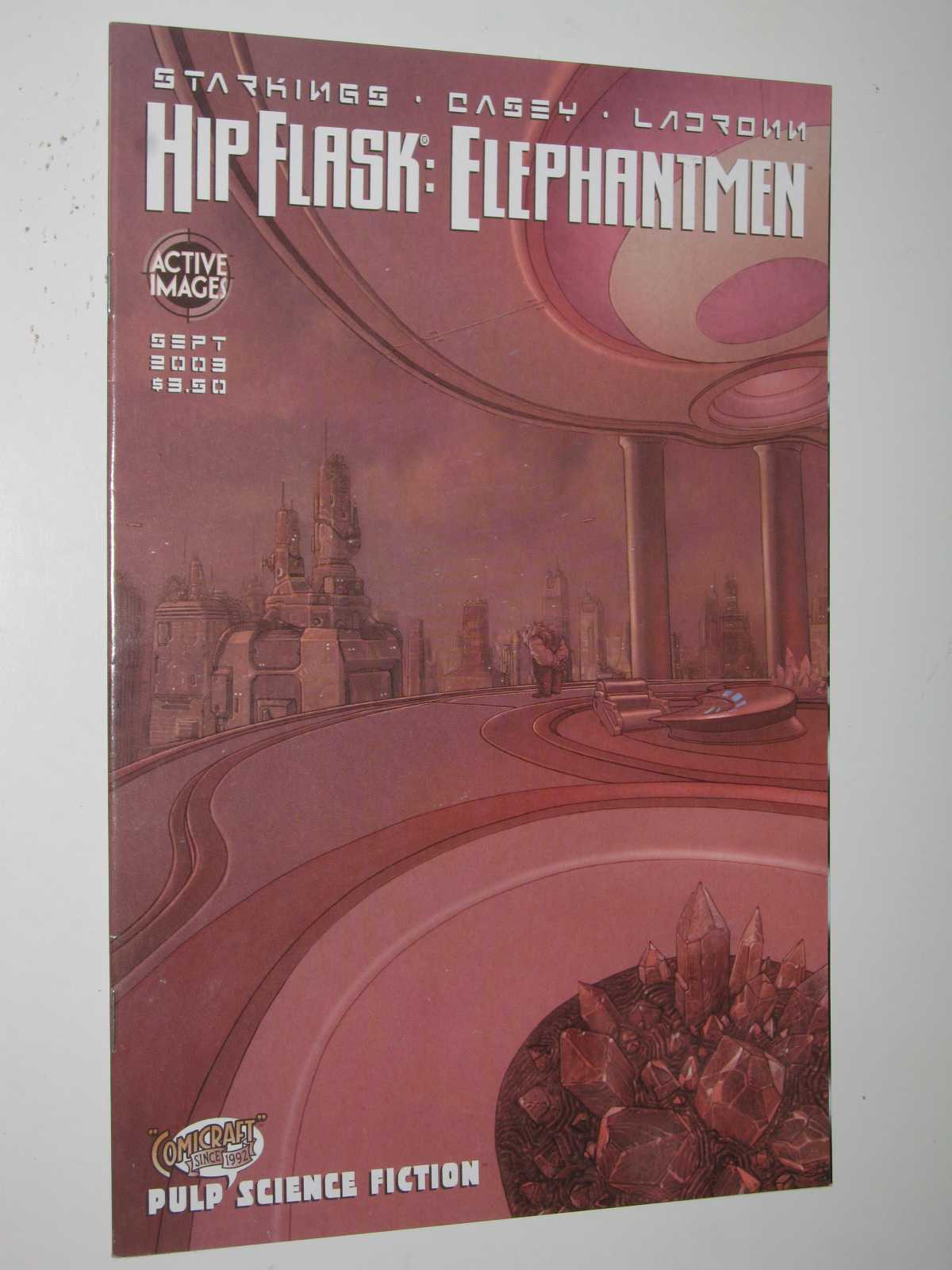 Image for Hip Flask: Elephantmen September 2003 - Cover 2 of 4
