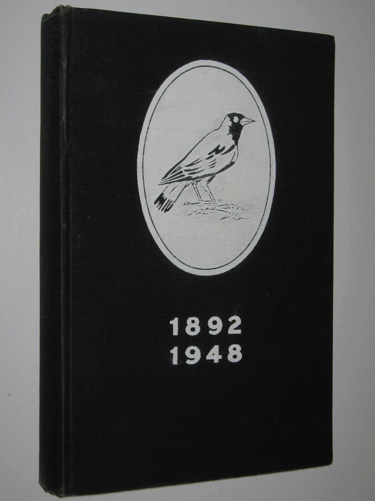 "Image for Collingwood Football Club 1892-1948 : Story Of ""The Magpies"", Most Famous Club In Australian Football History"