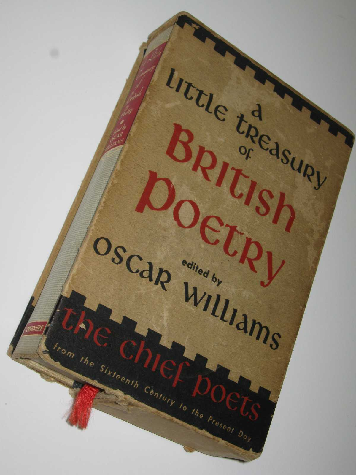 Image for A Little Treasury of British Poetry : The Chief Poets from 1500 to 1950
