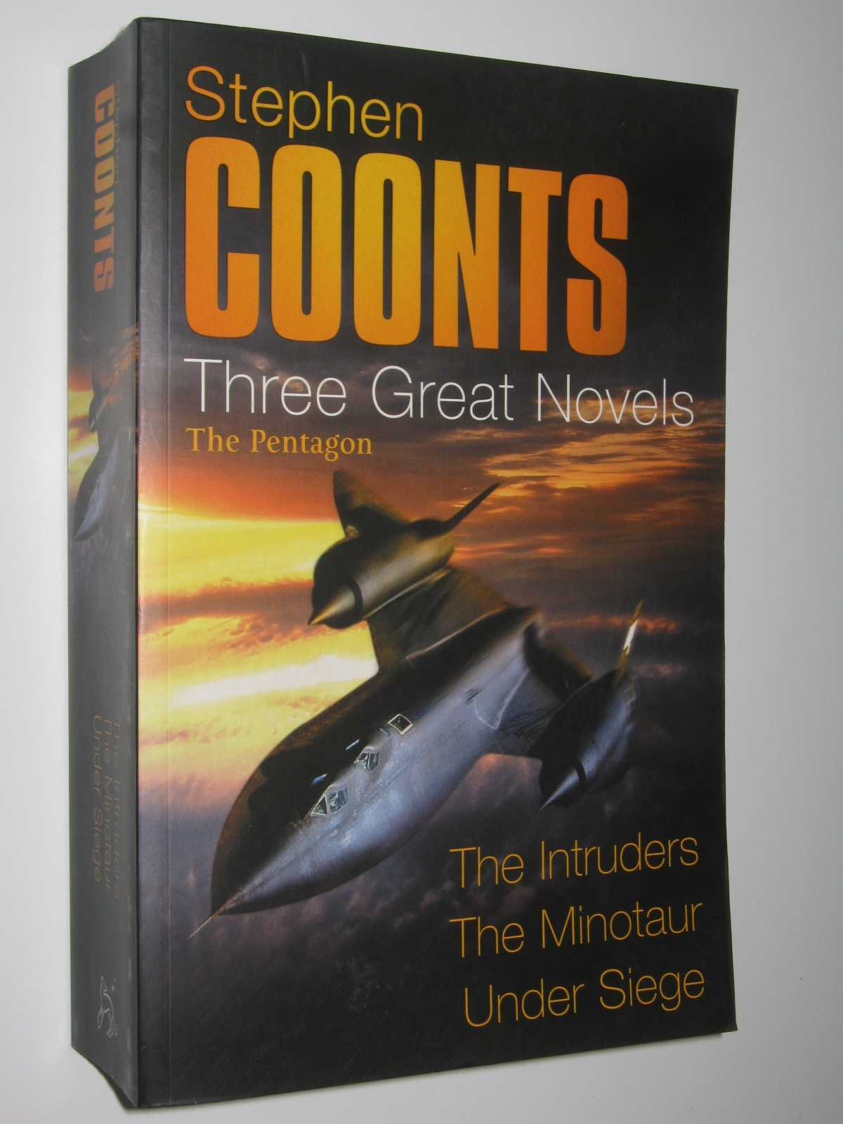 Image for Three Great Novels : The Intruders + The Minotaur + Under Siege