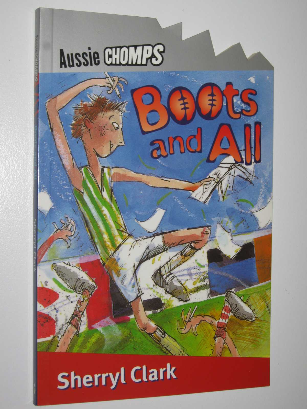Image for Boots and All - Aussie Chomps Series