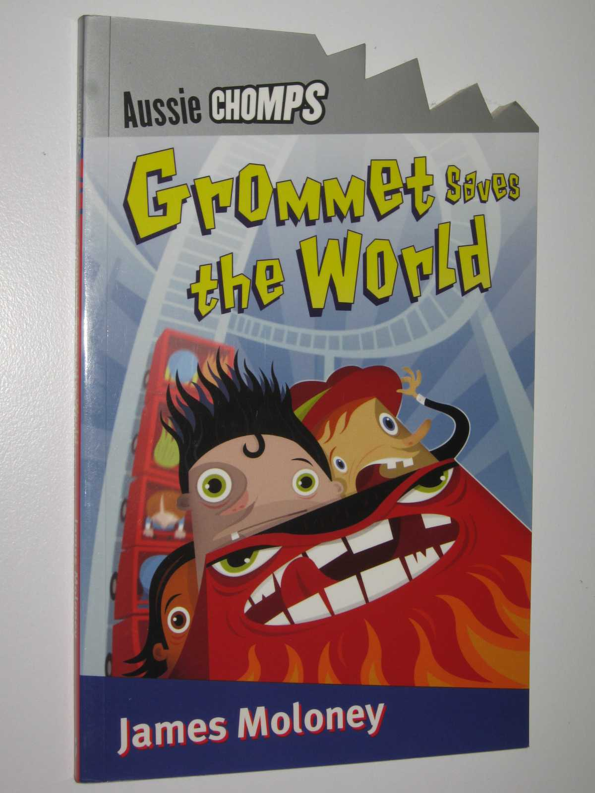 Image for Grommet Saves the World - Aussie Chomps Series