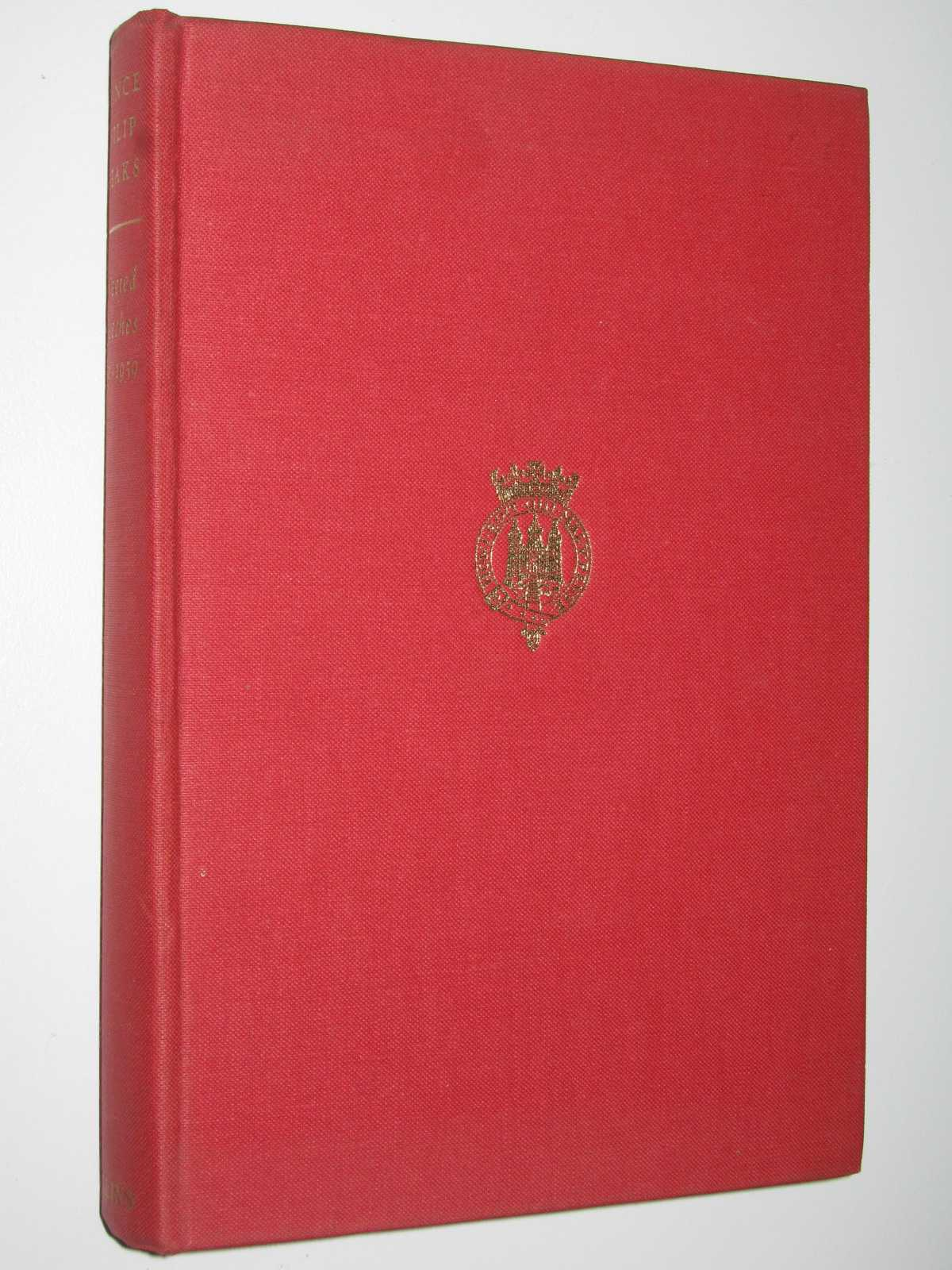 Image for Prince Philip Speaks : Selected Speeches by His Royal Highness The Prince Philip Duke Of Edinburgh, K.G. 1956-1959