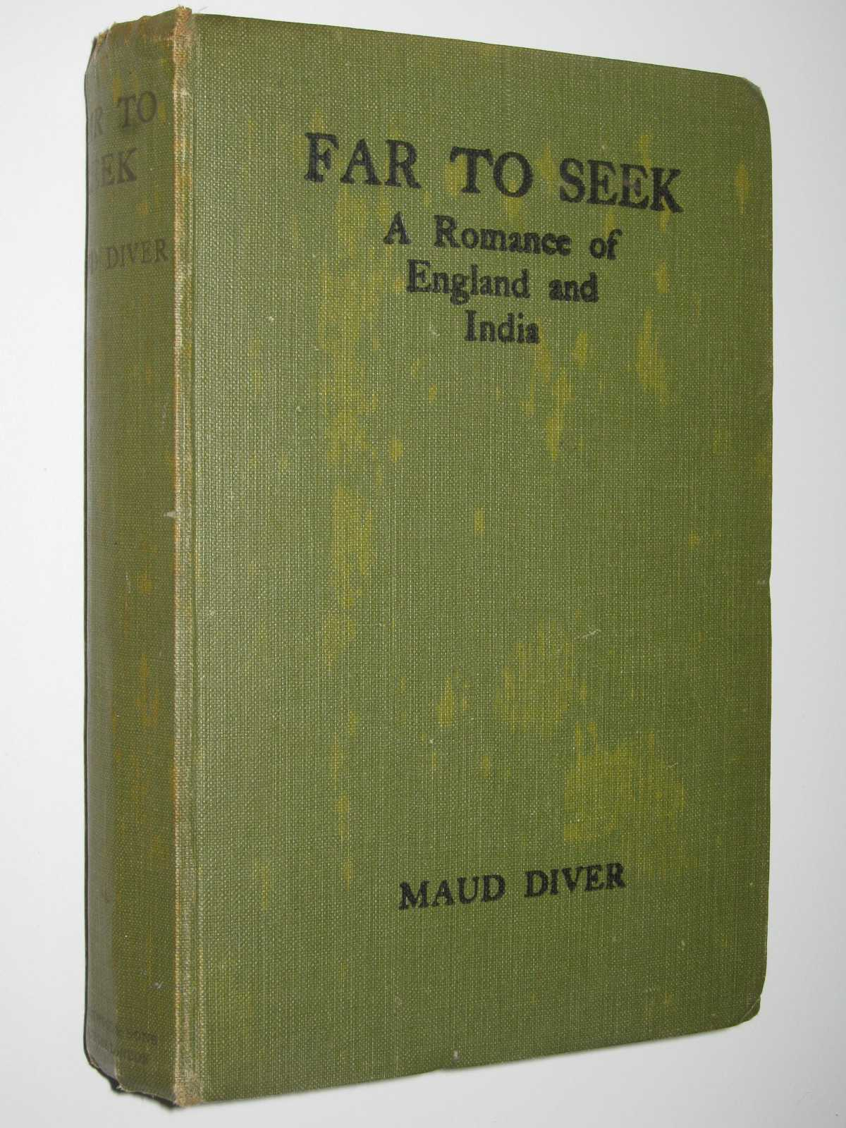 Image for Far to Seek : A Romance of England and India