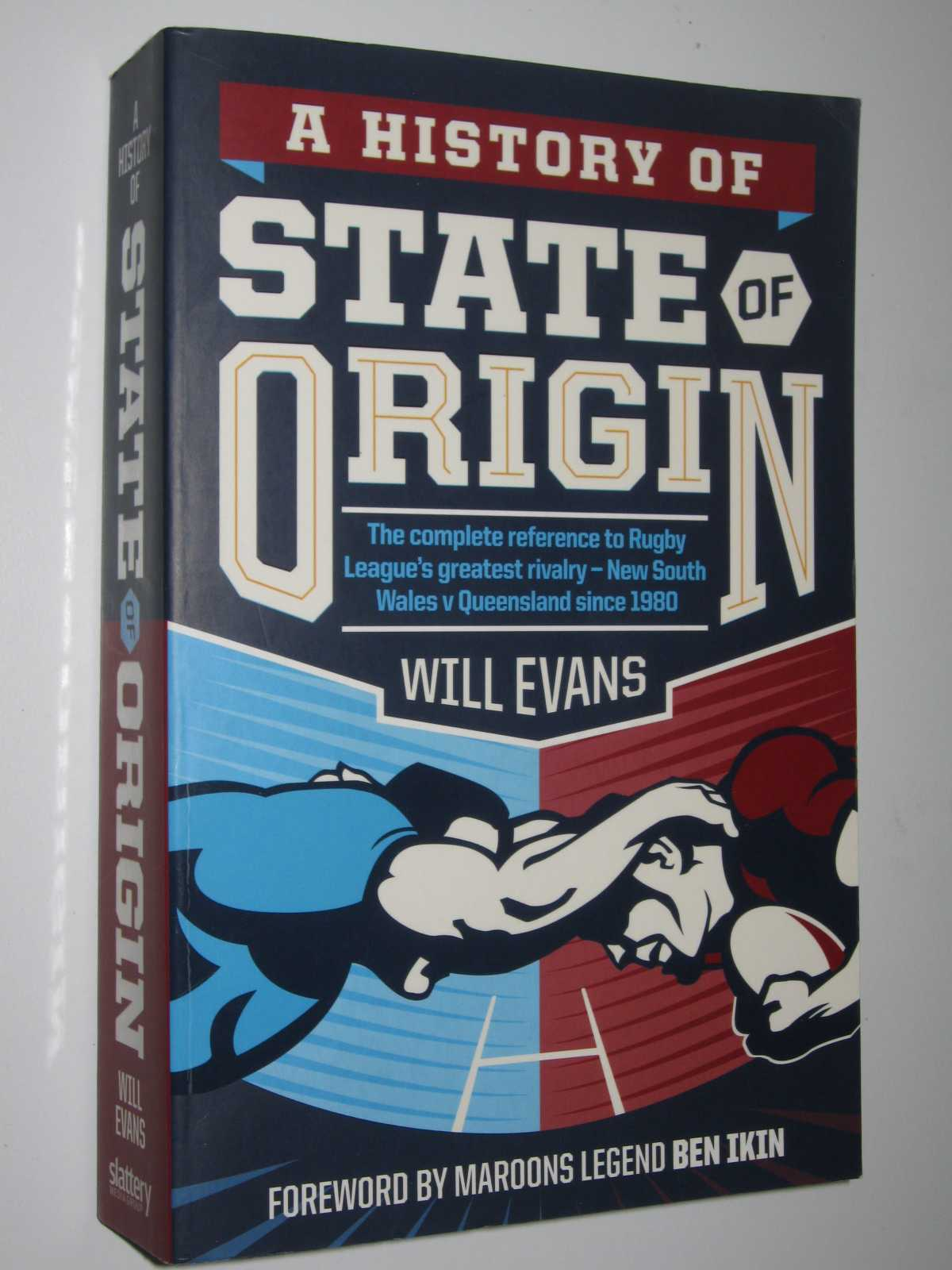 Image for A History of State of Origin