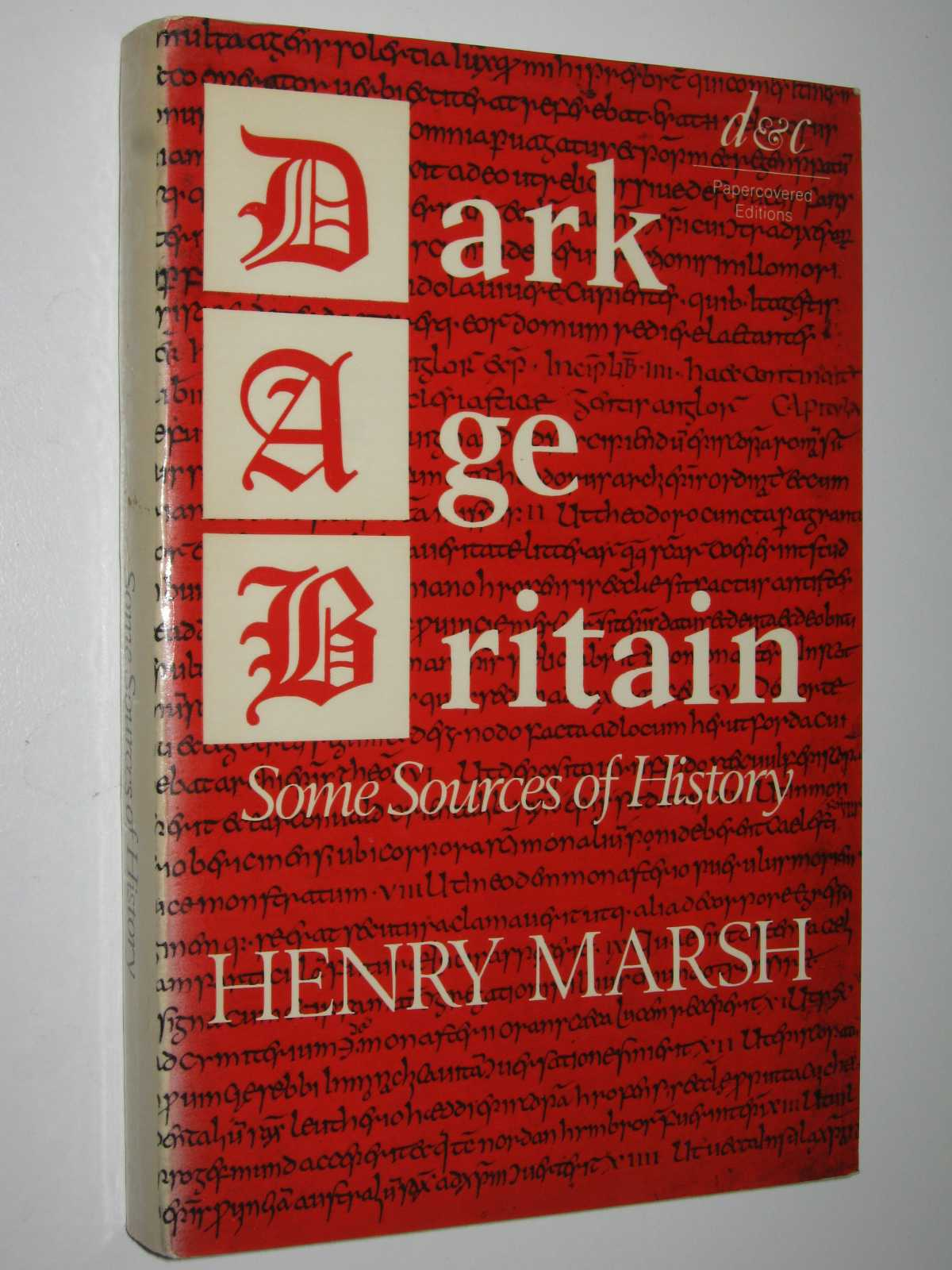 Image for Dark Age Britain : Some Sources of History