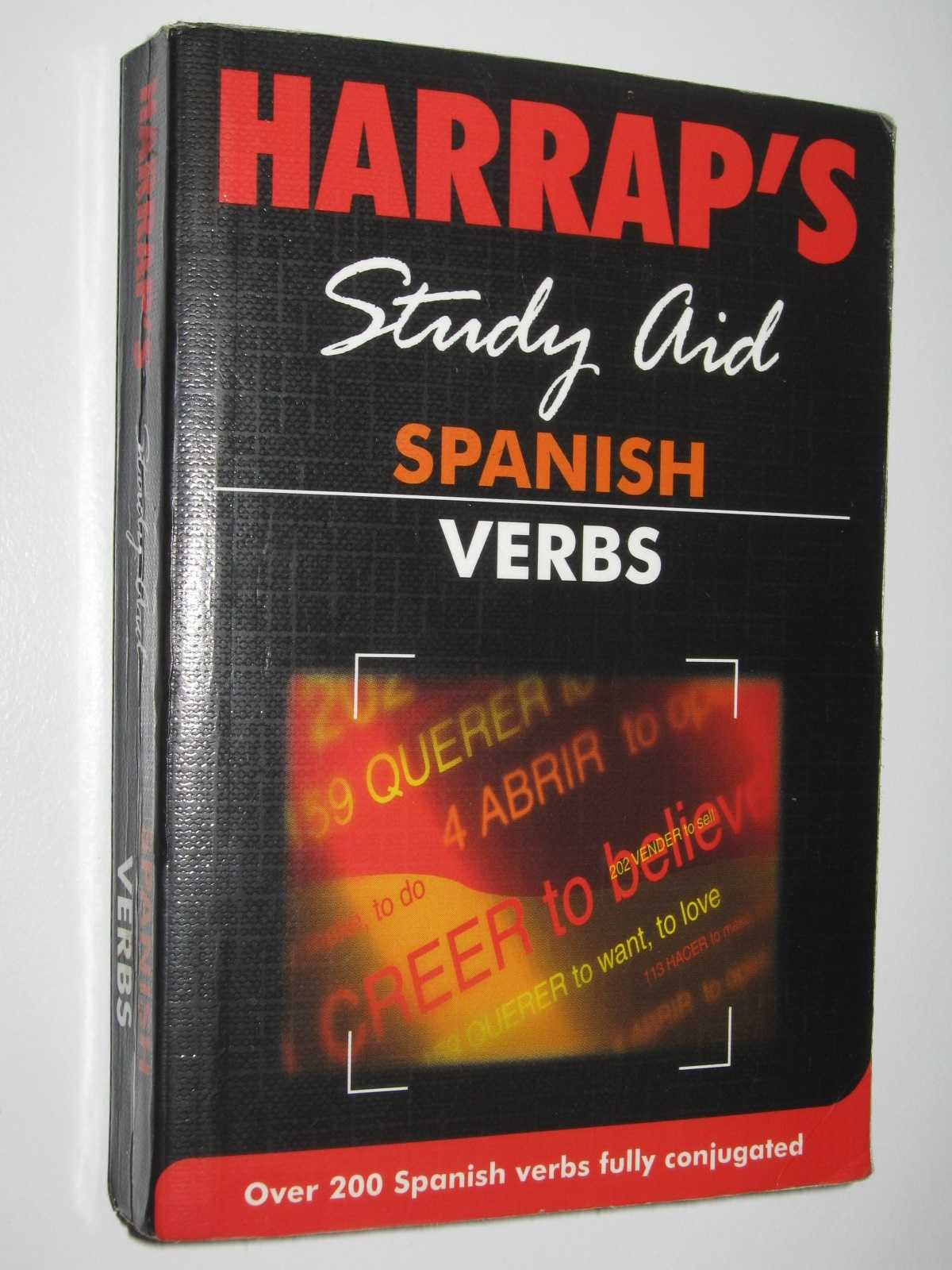 Image for Spanish Verbs : Harrap's Study Aid