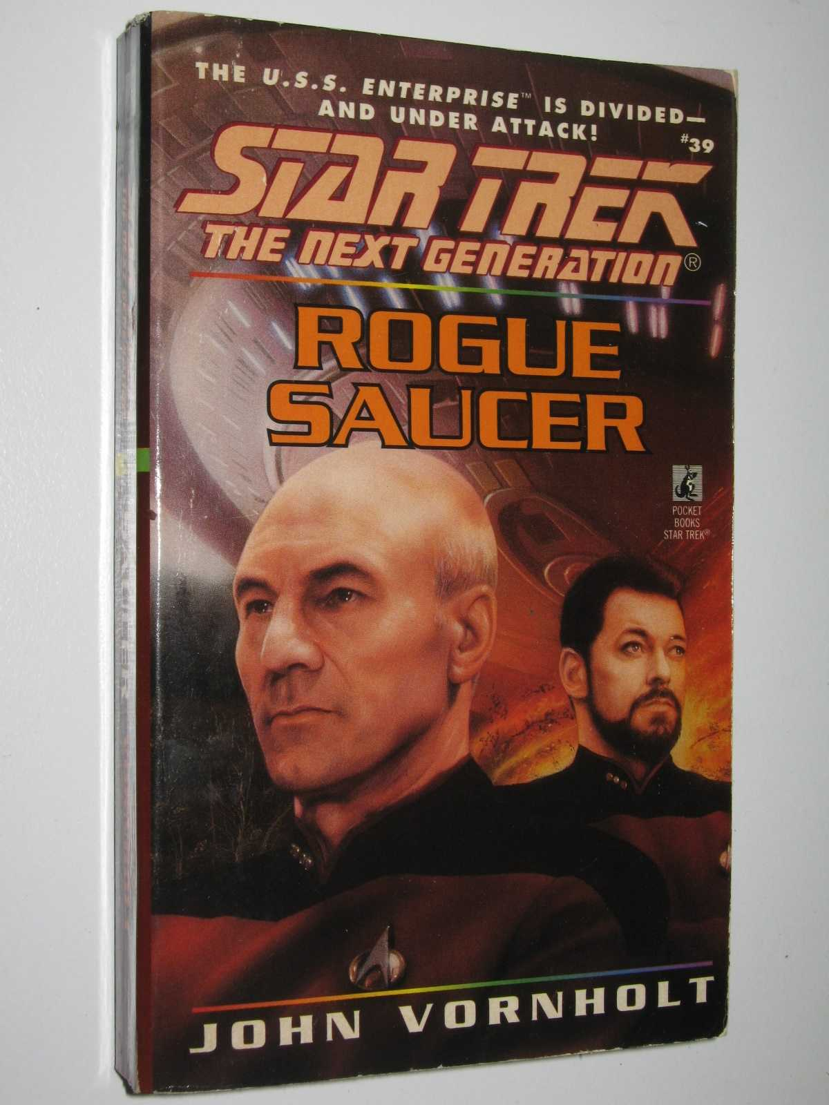 Image for Rogue Saucer - STAR TREK: The Next Generation Series #39