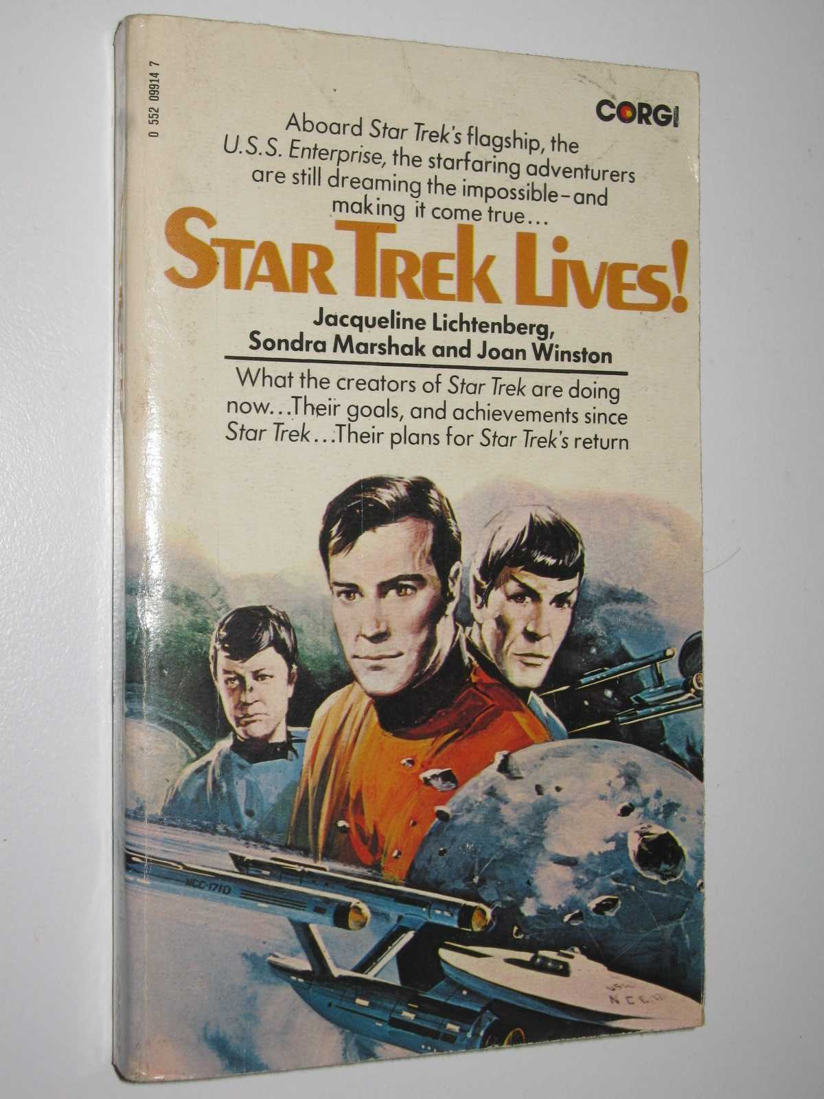 Image for Star Trek Lives!