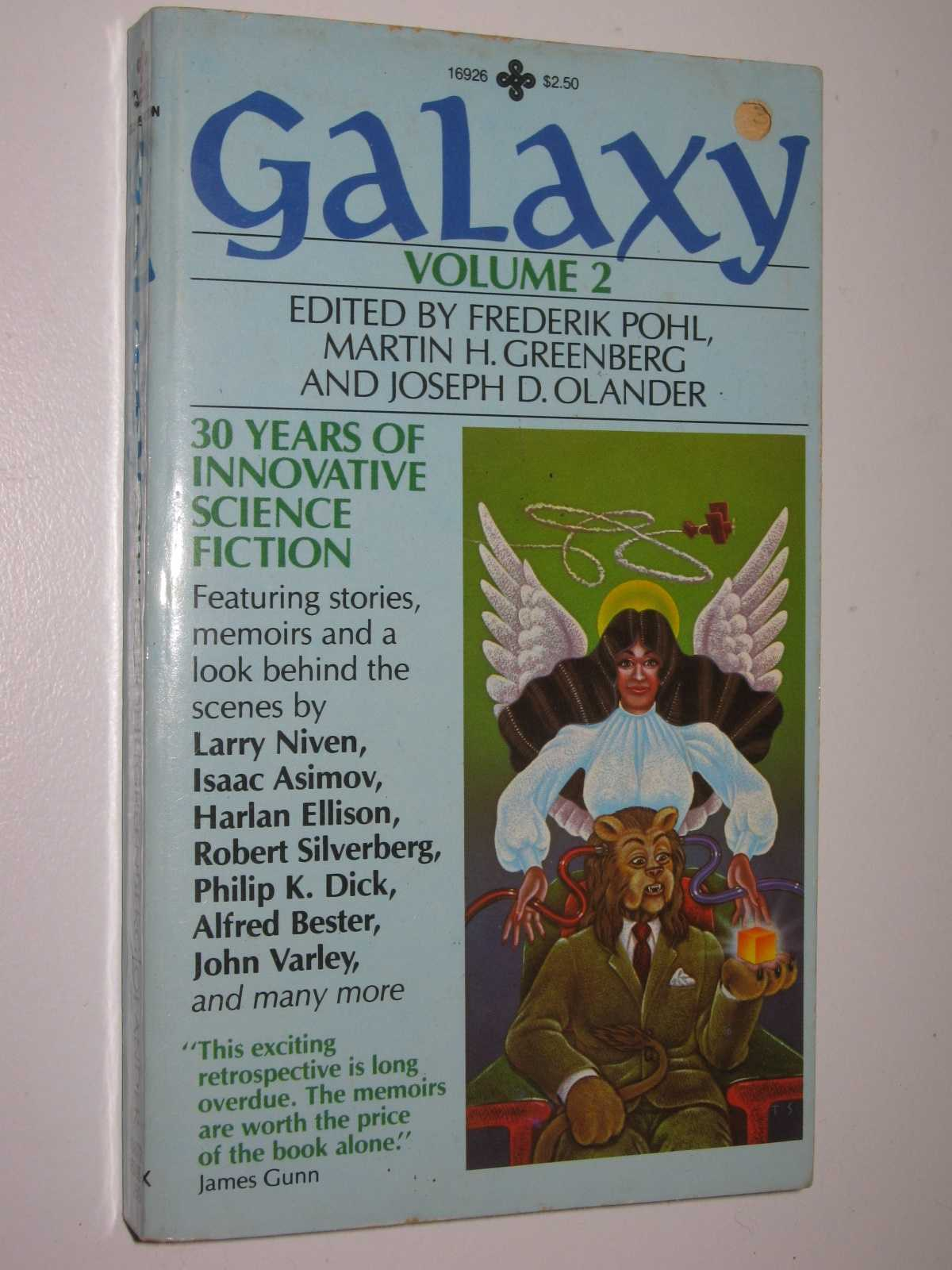 Image for Galaxy Volume 2 : 30 Years of Innovative Science Fiction