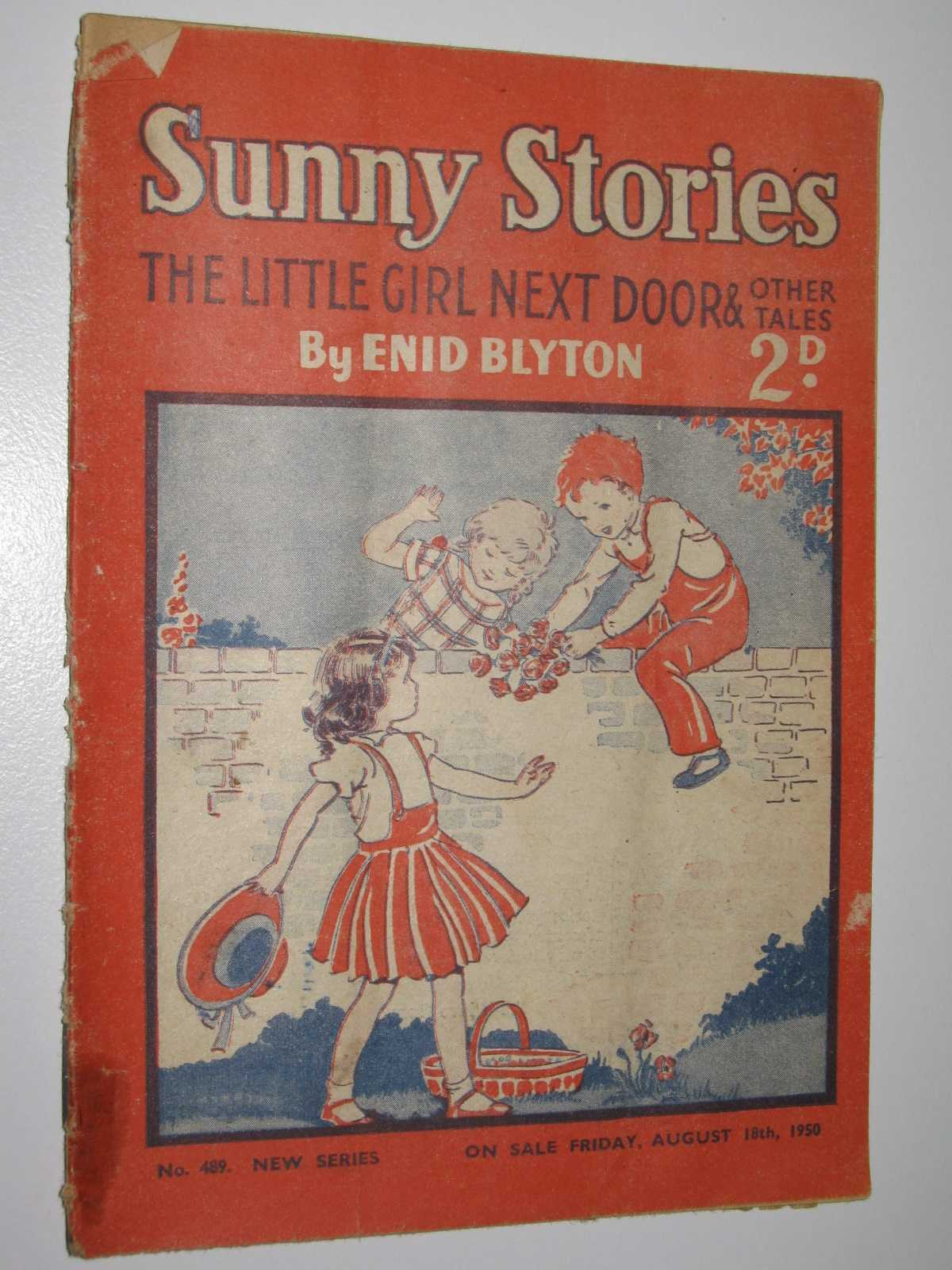Image for Sunny Stories No. 489 New Series : The Little Girl Next Door & Other Tales