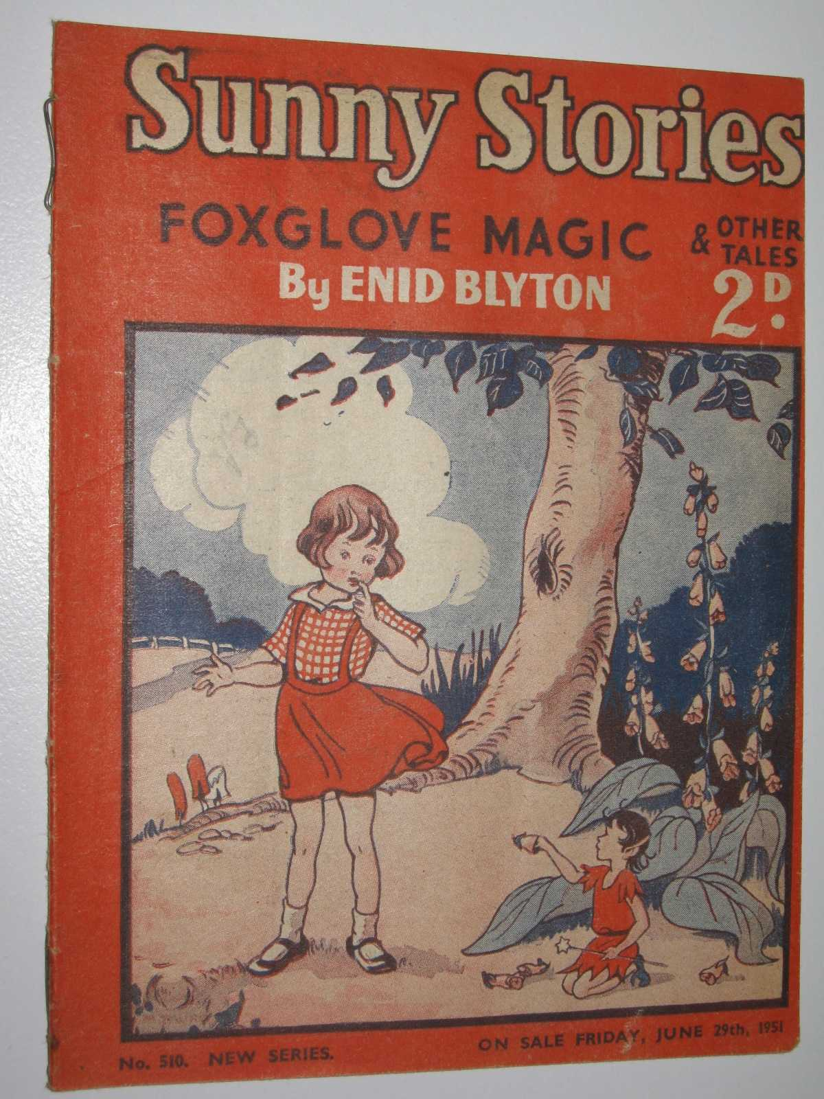 Image for Sunny Stories No. 510 New Series : Foxglove Magic & Other Tales