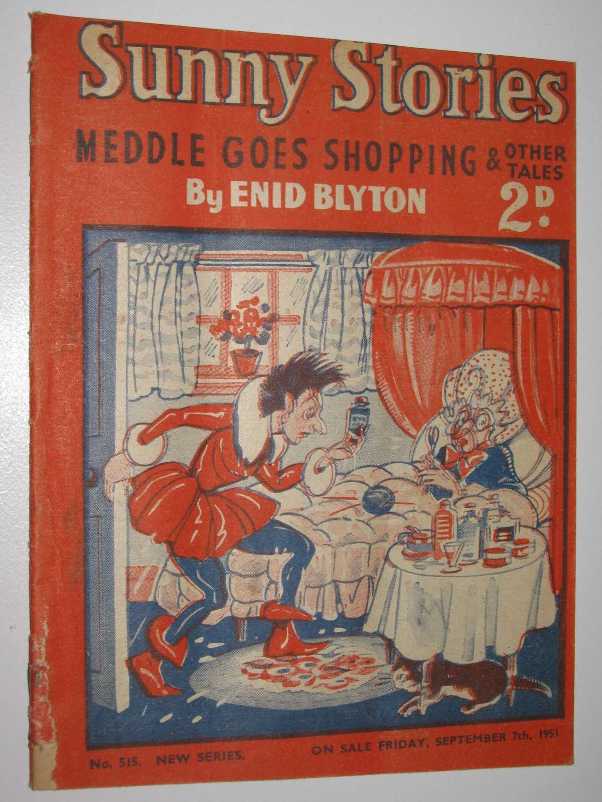 Image for Sunny Stories No. 515 New Series : Meddle Goes Shopping & Other Tales