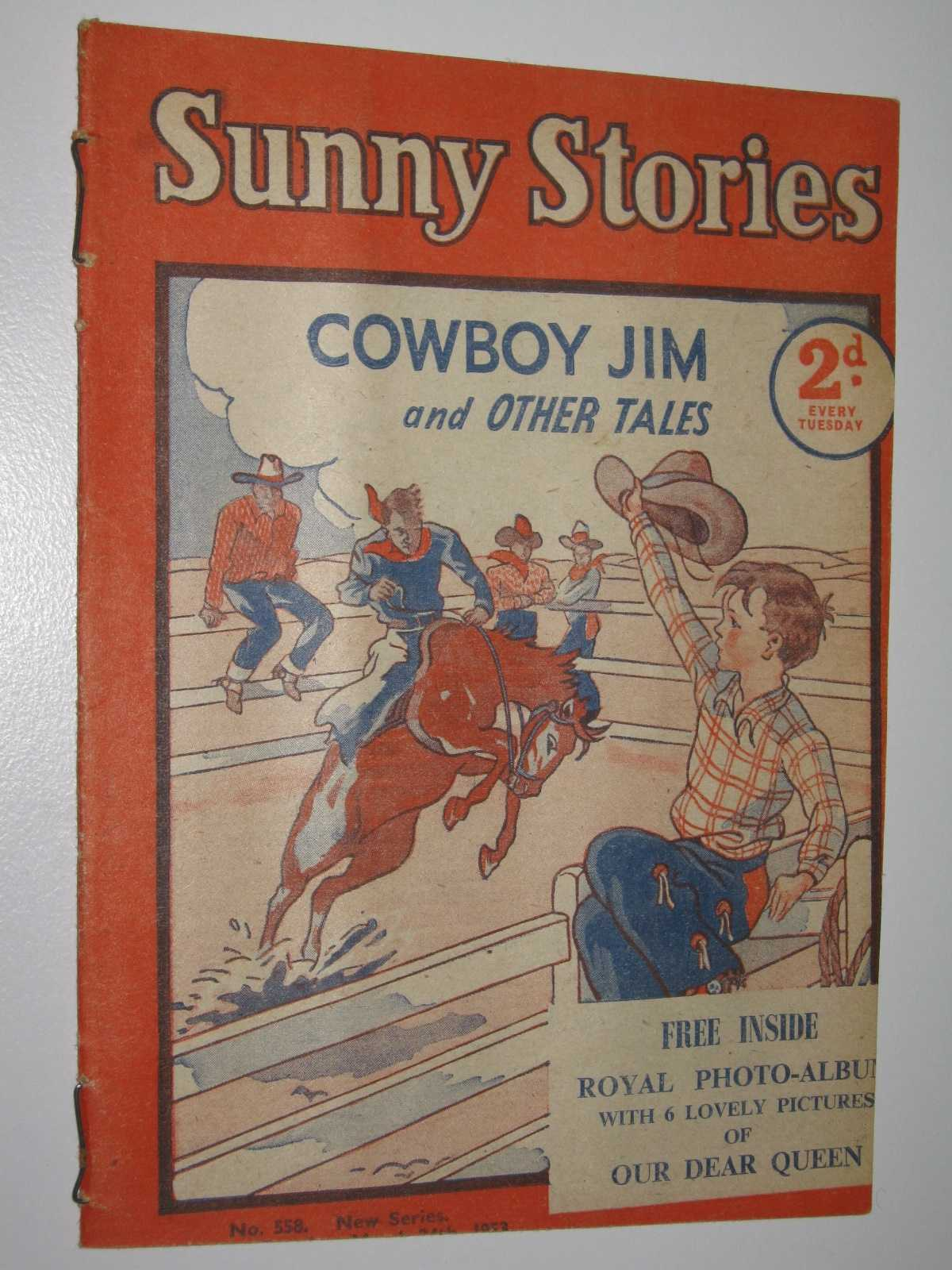 Image for Sunny Stories No. 558 New Series : Cowboy Jim and Other Tales