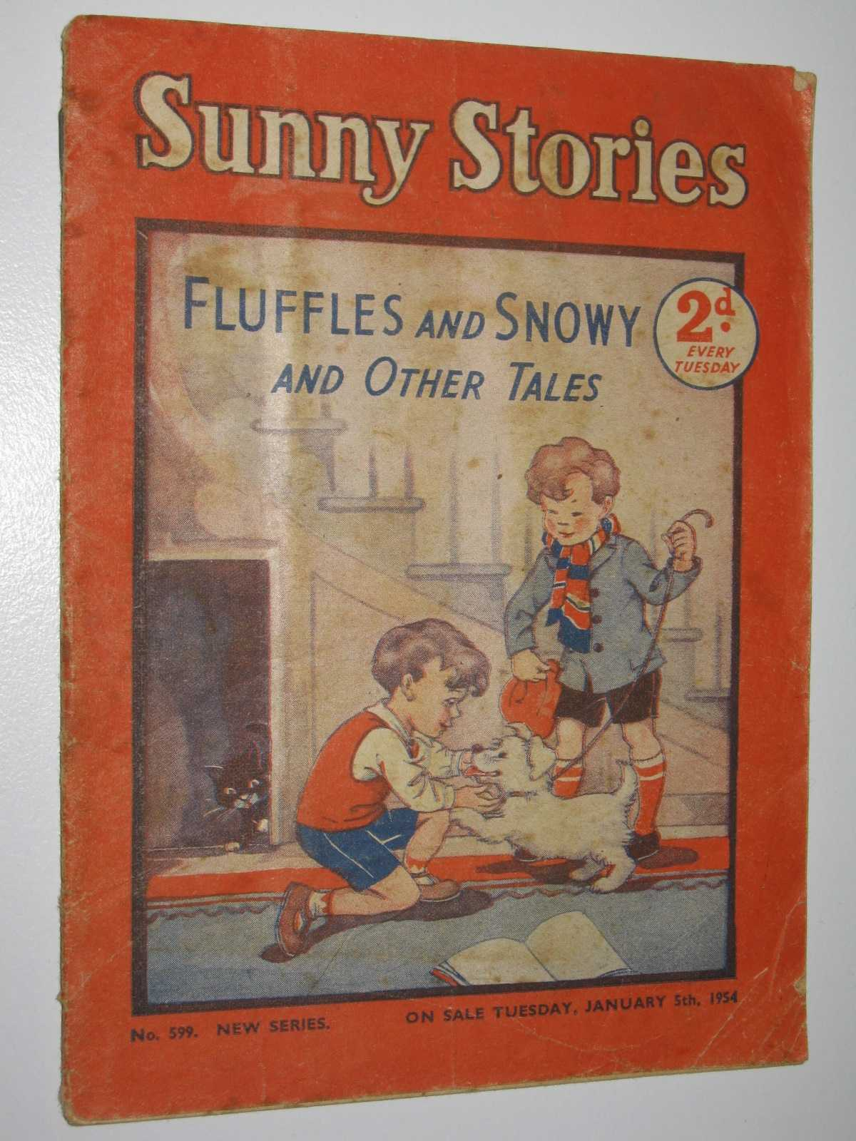 Image for Sunny Stories No. 599 New Series : Fluffles and Snowy and Other Tales