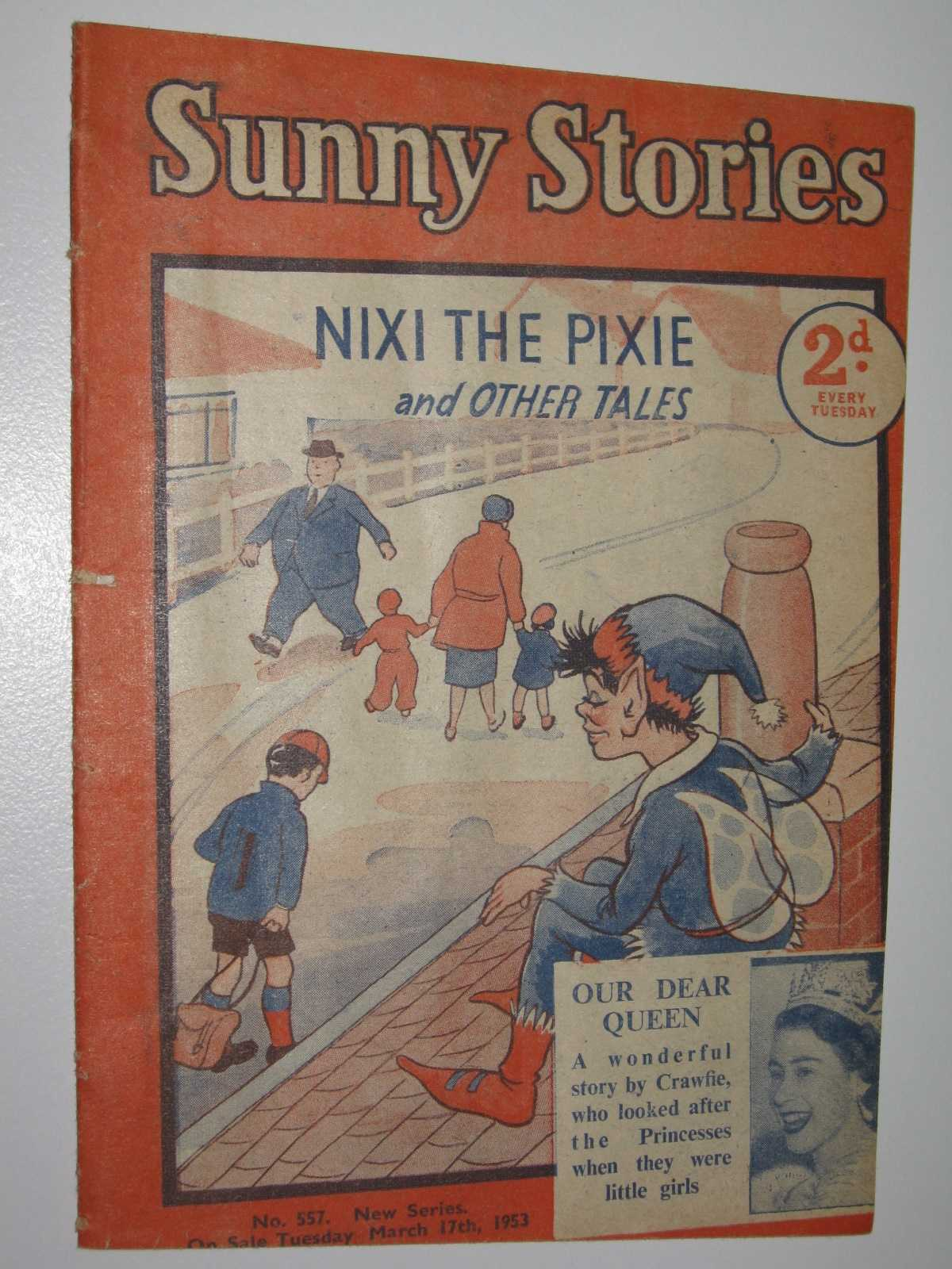 Image for Sunny Stories No. 557 New Series : Nixi the Pixie & Other Tales