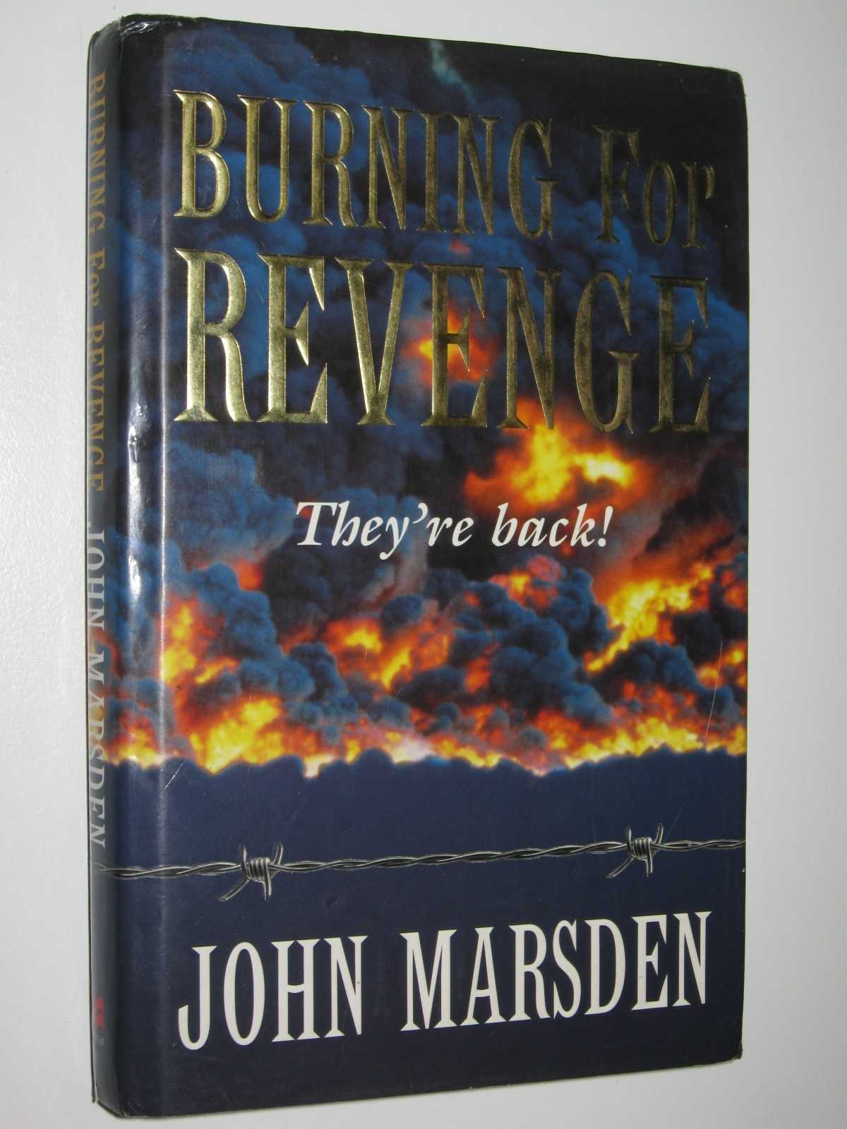 Image for Burning for Revenge - Tomorrow Series #5