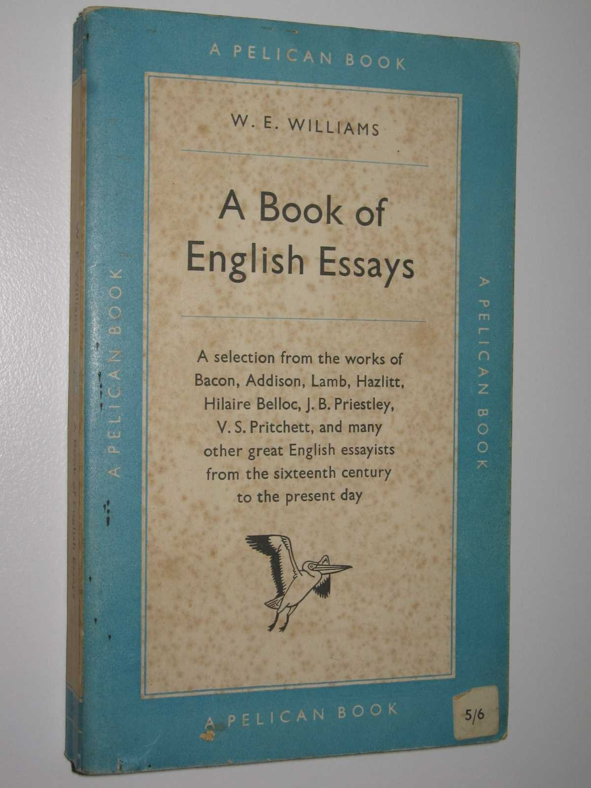 Image for A Book of English Essays
