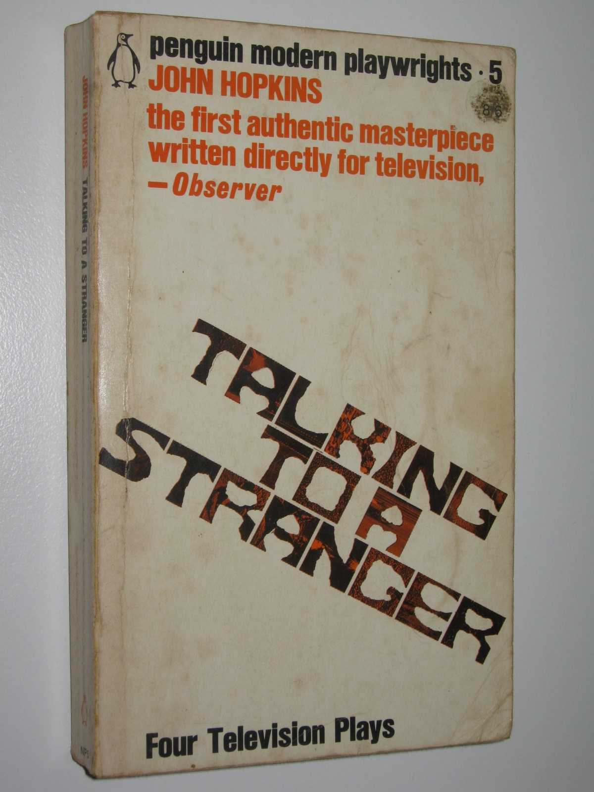 Image for Talking to a Stranger : Four Television Plays