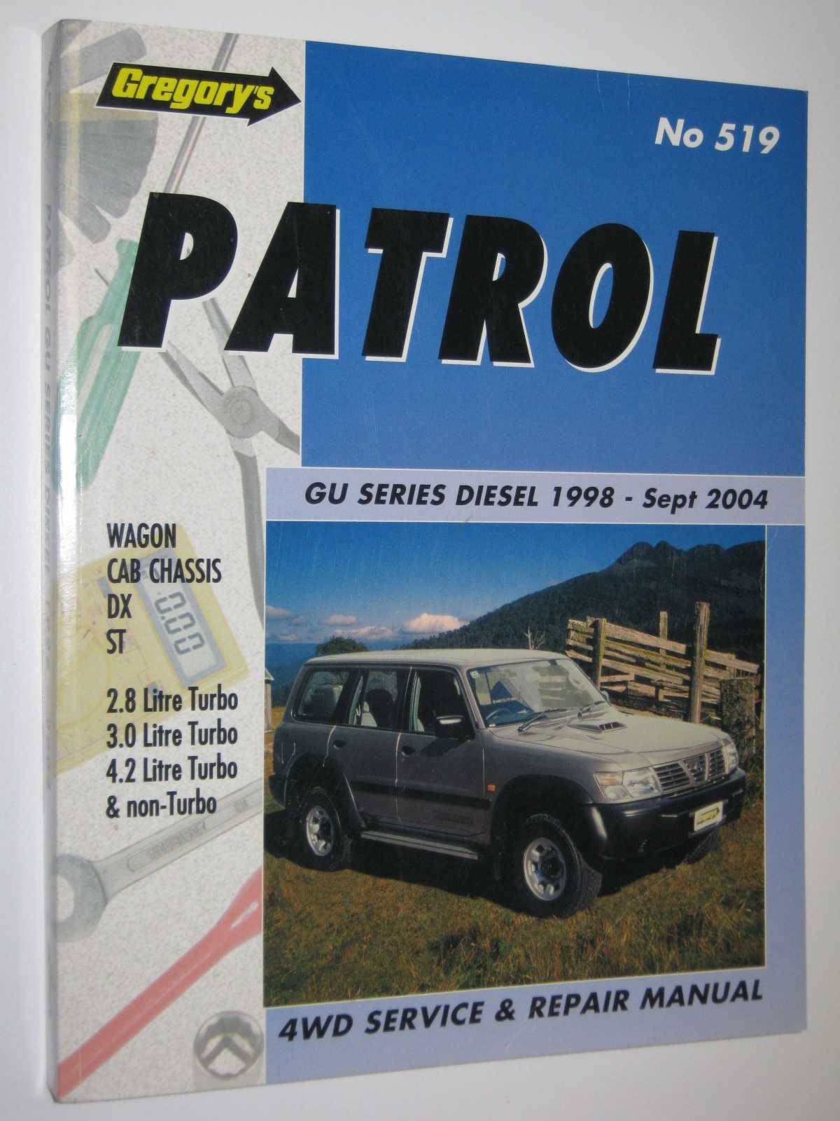 Image for Patrol GU Series Diesel April 1998-Sept 2004 - Service and Repair Manual Series #519