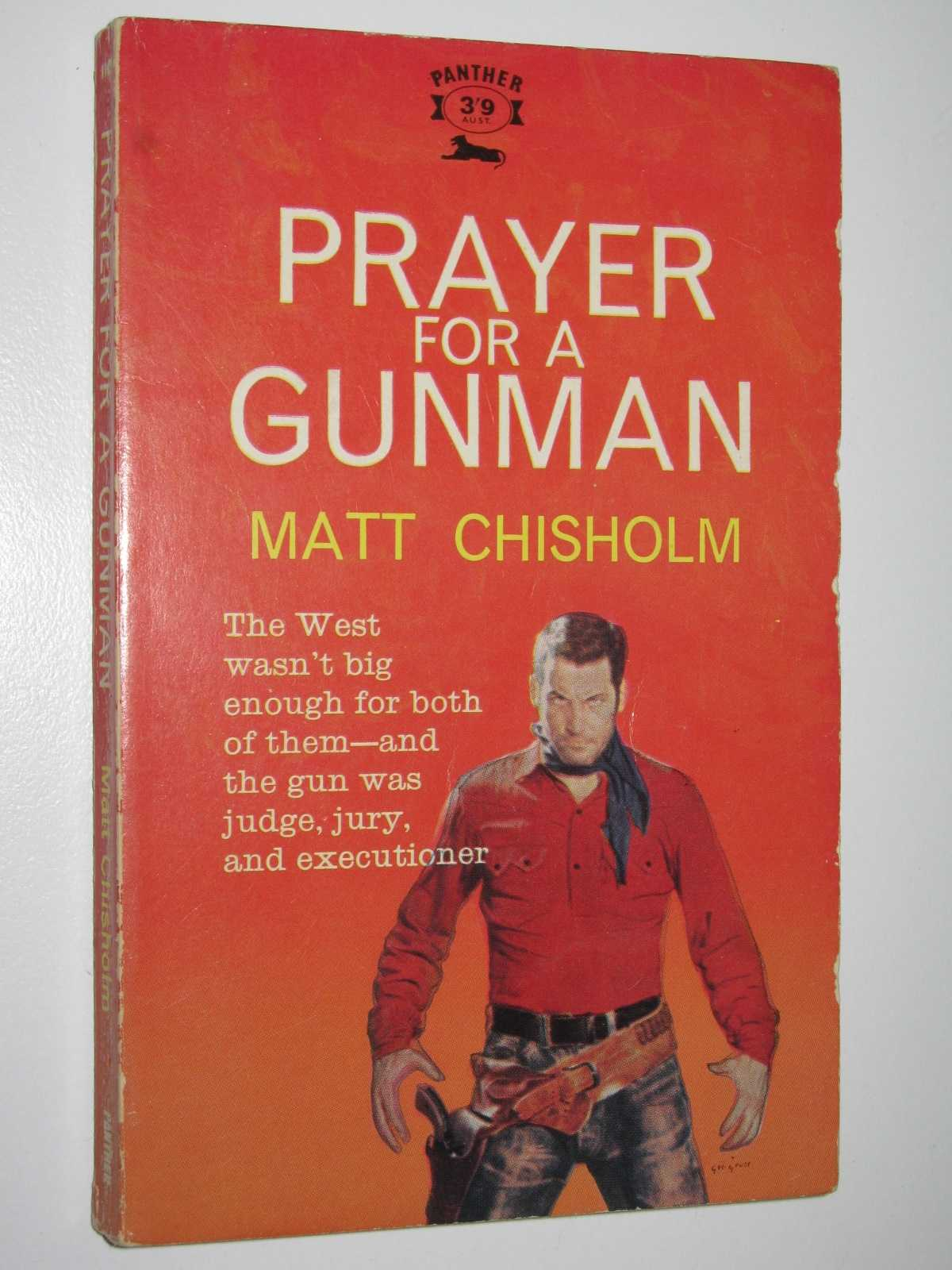 Image for Prayer for a Gunman