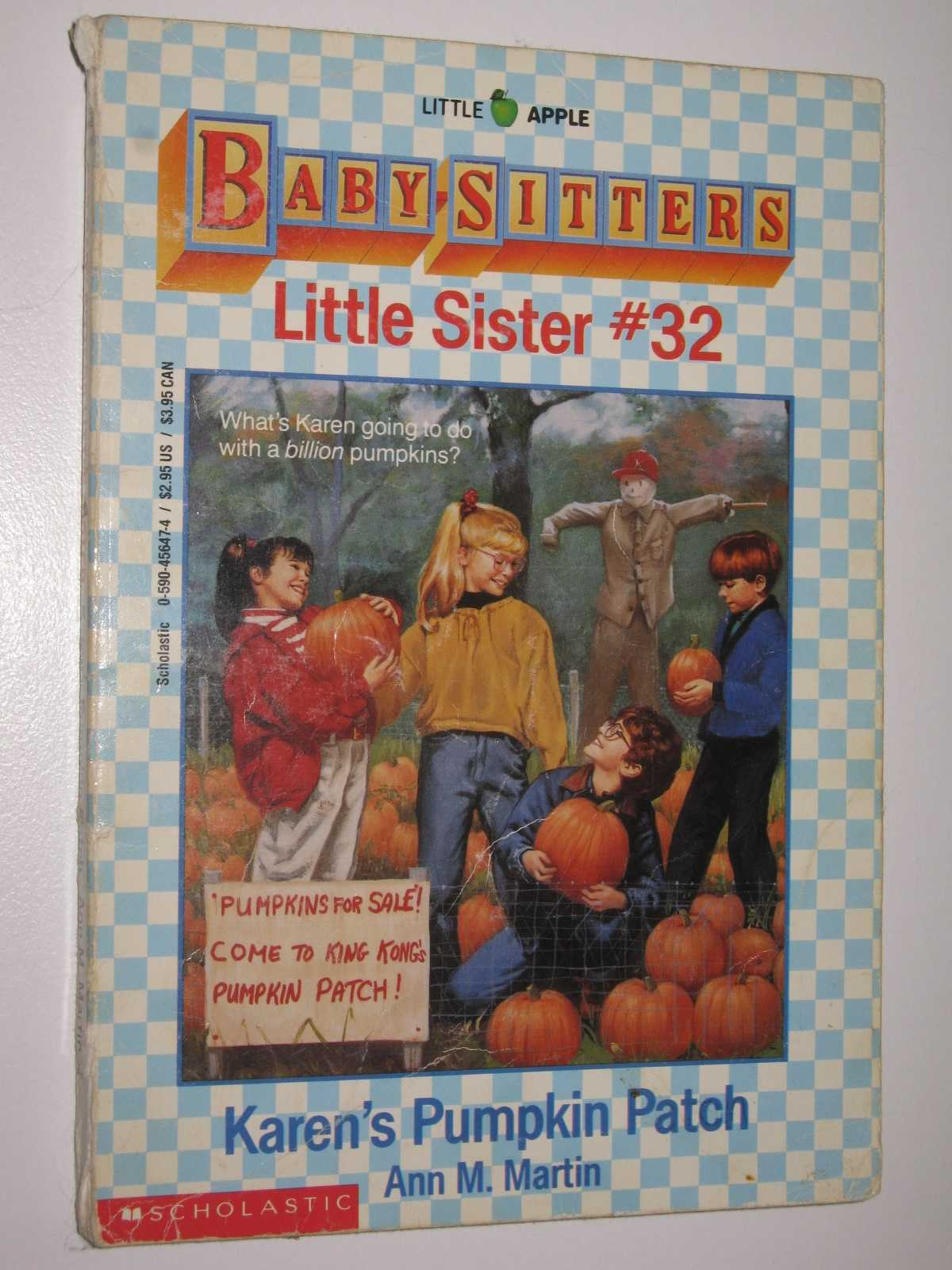 Image for Karen's Pumpkin Patch - Little Sister Series #32
