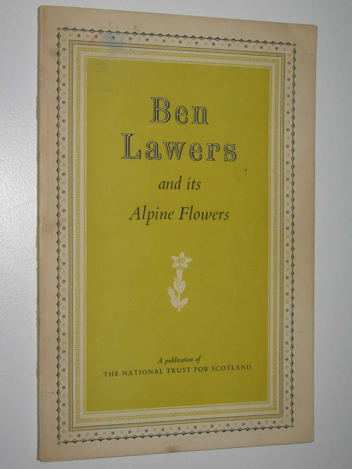 Image for Ben Lawers and its Alpine Flowers