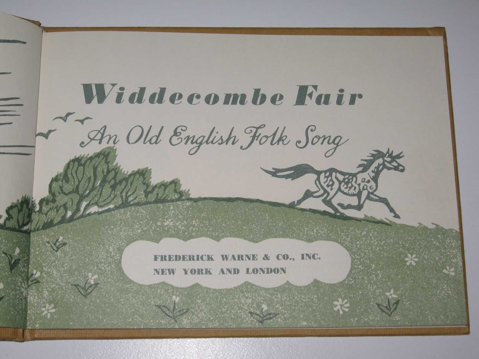 Image for Widdecombe Fair : An Old English Folk Song