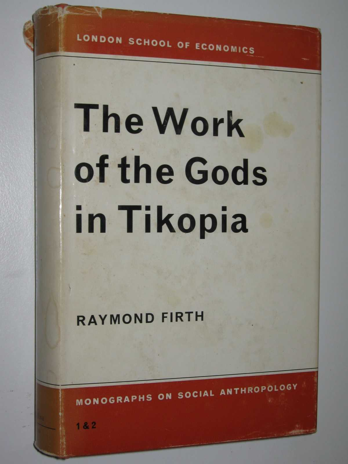 Image for The Work of the Gods in Tikopia