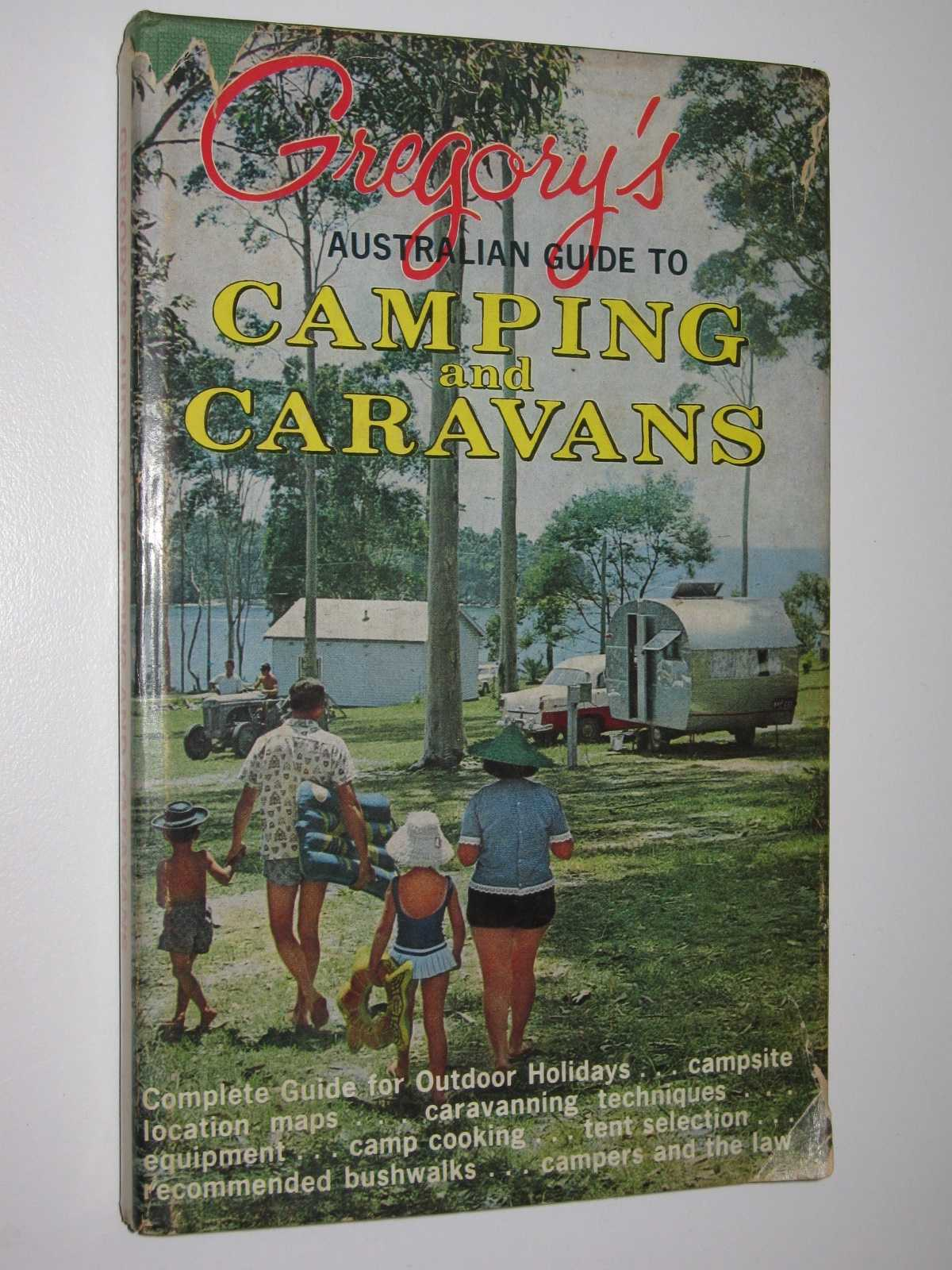 Image for Gregory's Australian guide to Camping and Caravans