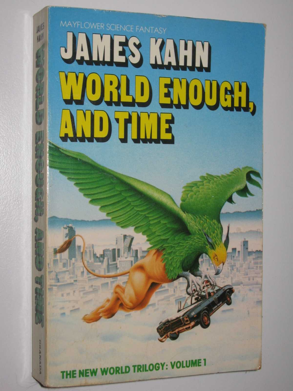Image for World Enough, and Time - New World Trilogy #1