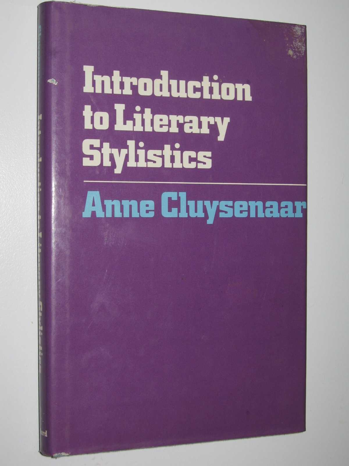 Image for Introduction to Literary Stylistics