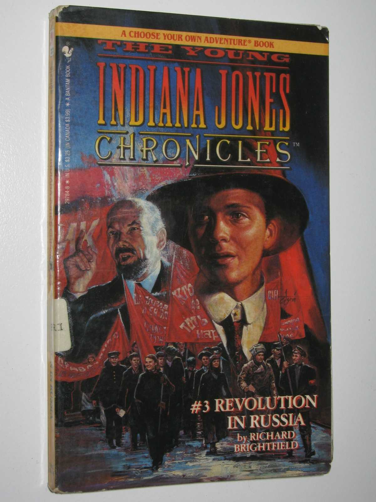 Image for Revolution in Russia - Young Indiana Jones Chronicles #3