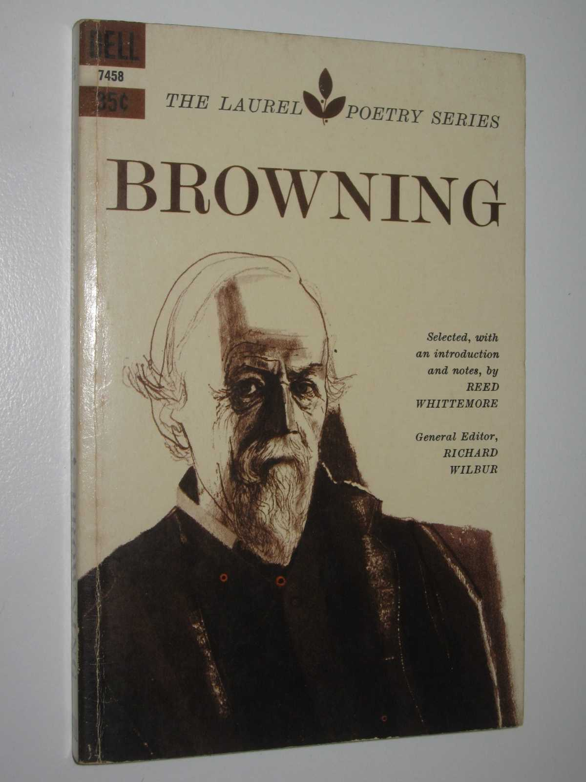Image for Browning - Laurel Poetry Series