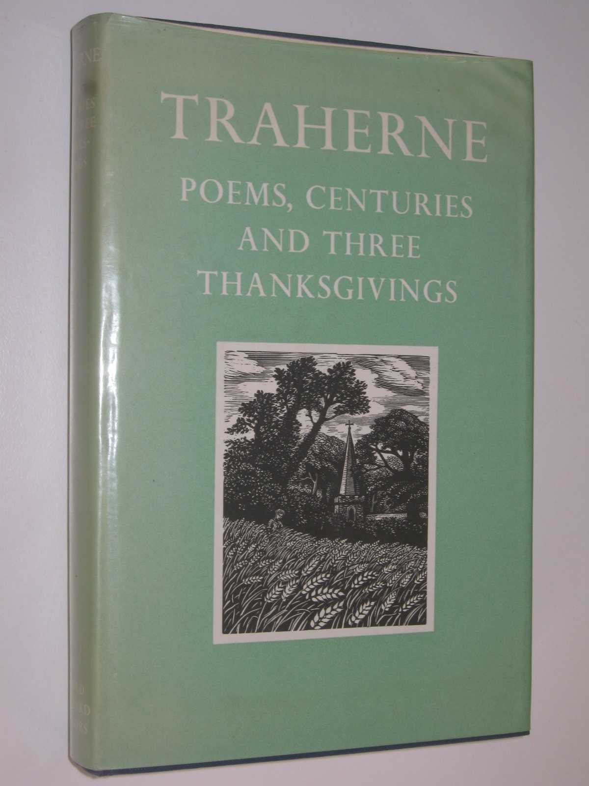 Image for Poems, Centuries and Three Thanksgivings