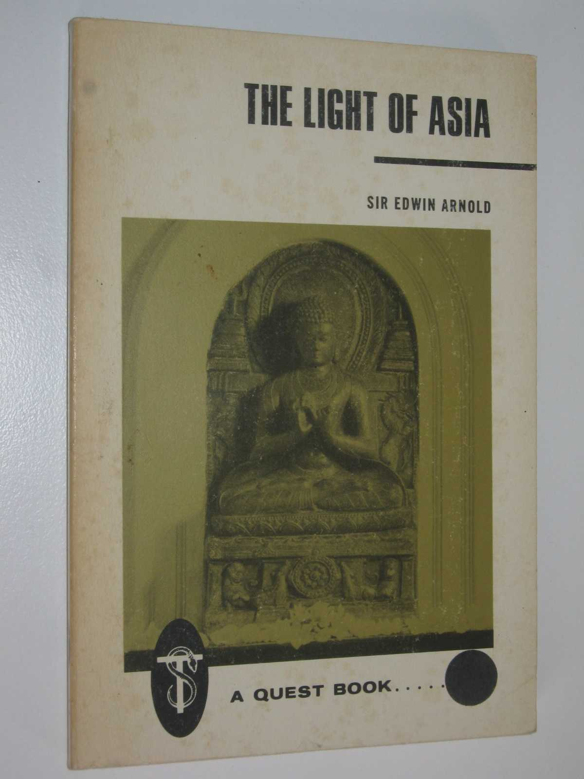 Image for The Light of Asia : or, the Great Renunciation