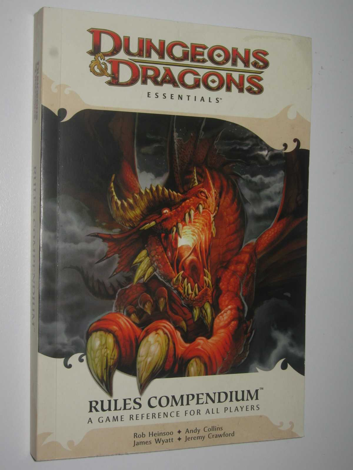 Image for Dungeons and Dragons Essentials: Rules Compendium