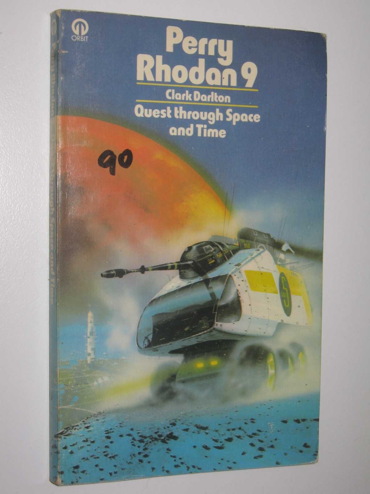 Image for Quest Through Space and Time - Perry Rhodan Series #9