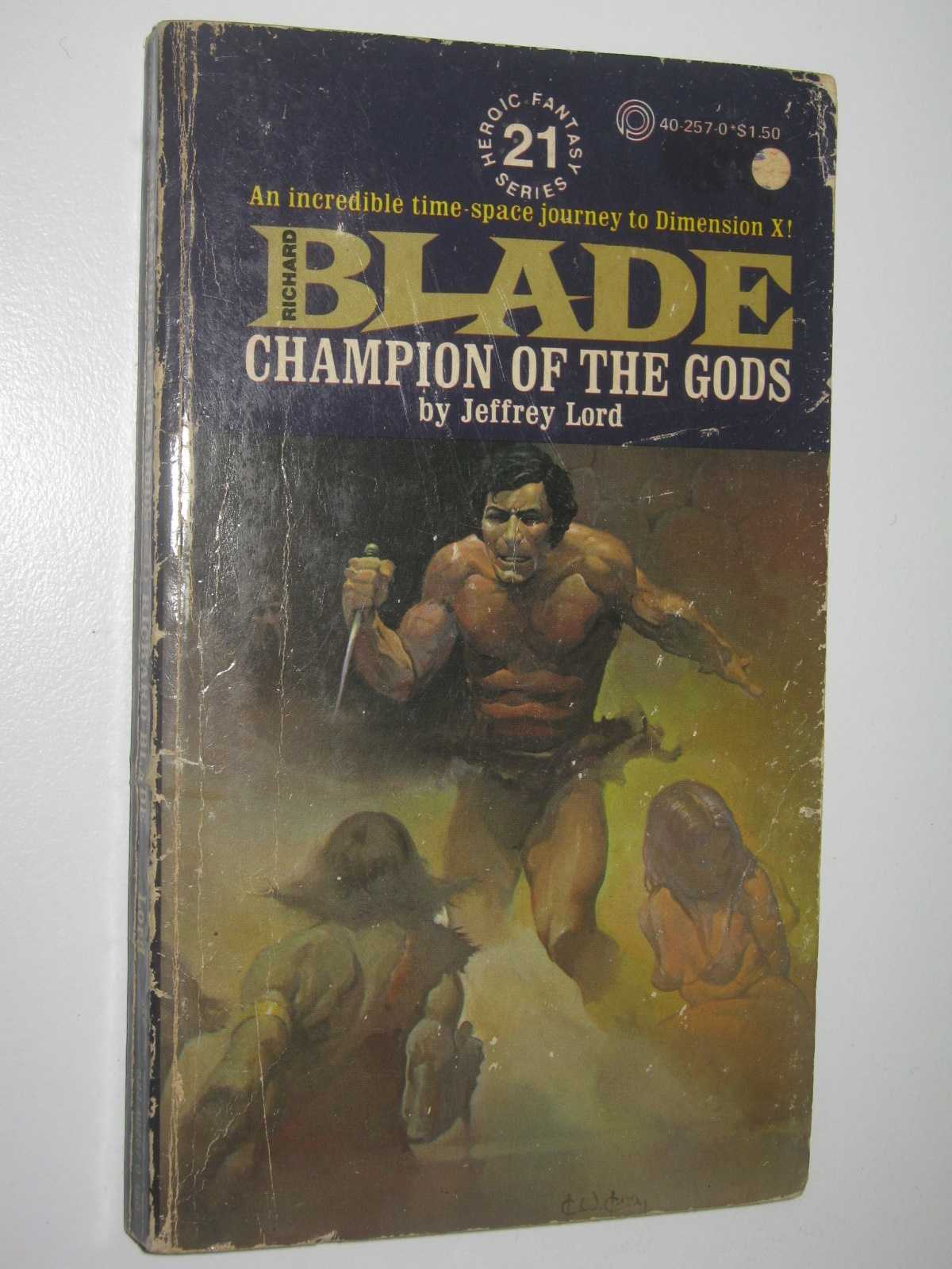 Image for Champion of the Gods - Blade Series #21