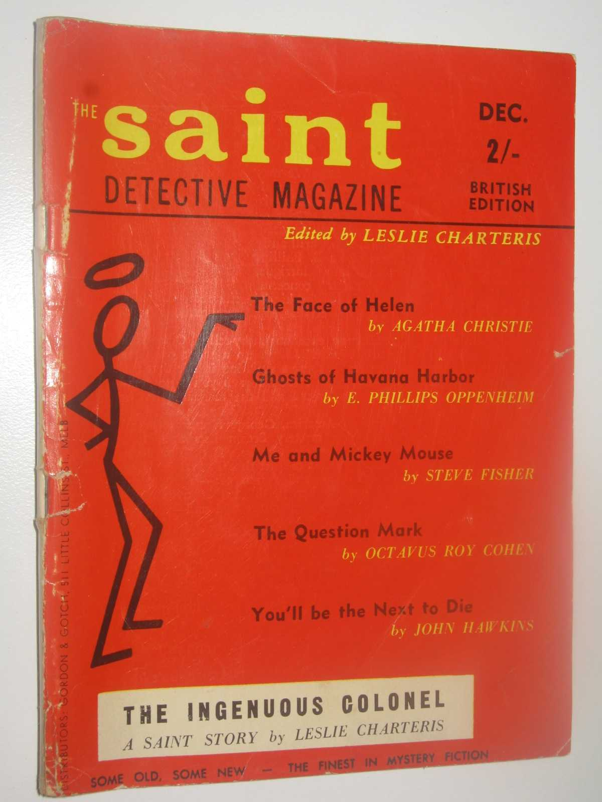 Image for The Saint Detective Magazine May 1959 : Vol. 10, No. 3