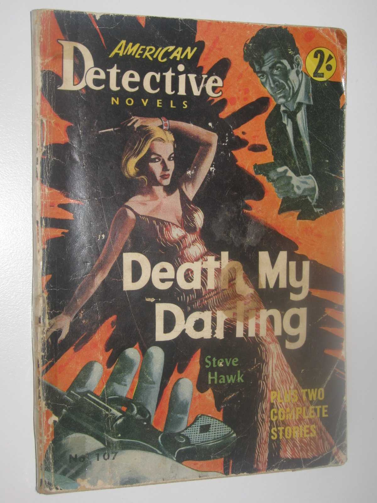 Image for Death My Darling - American Detective Novel #107