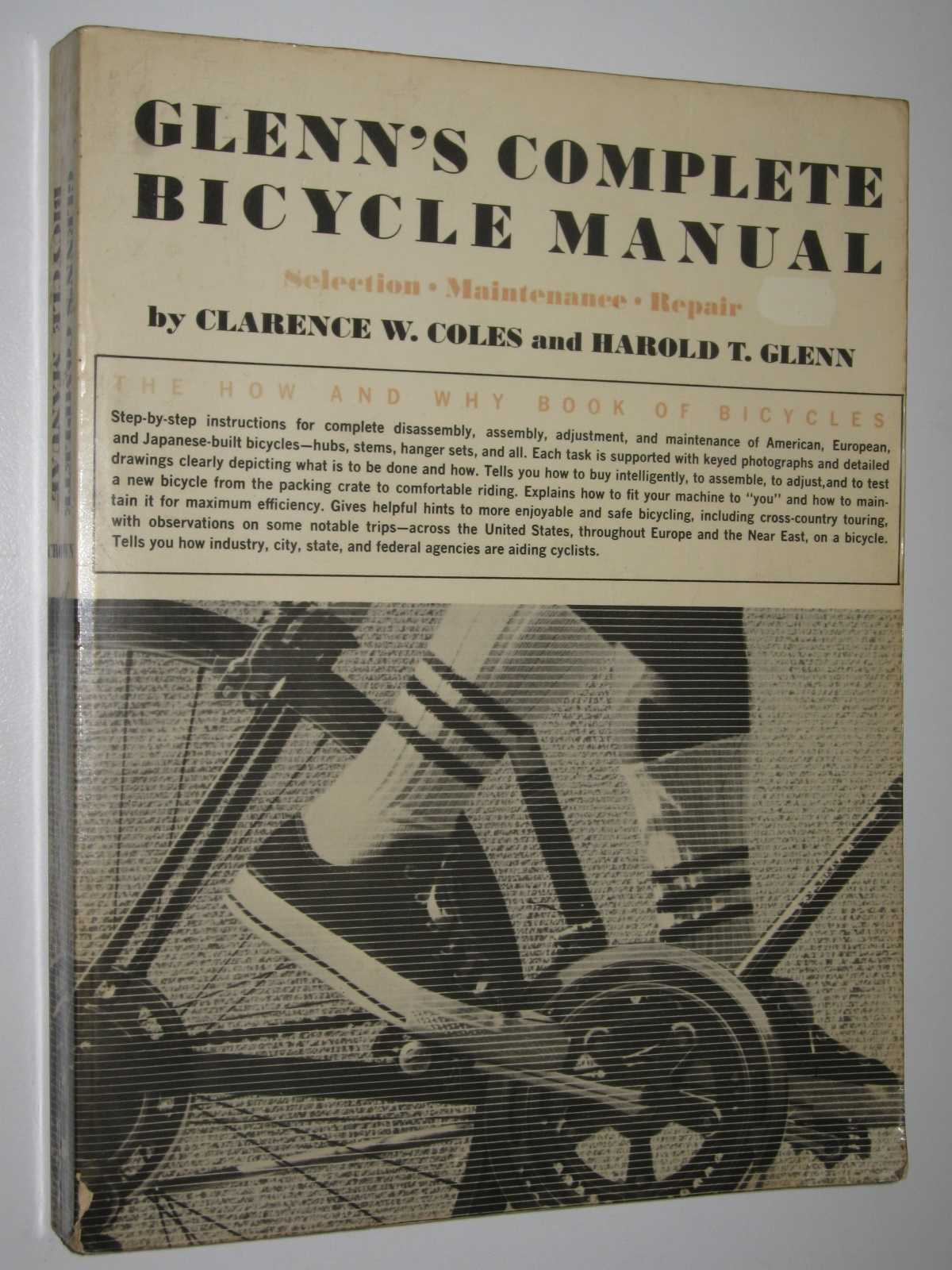 Image for Glenn's Complete Bicycle Manual : Selection, Maintenance, Repair