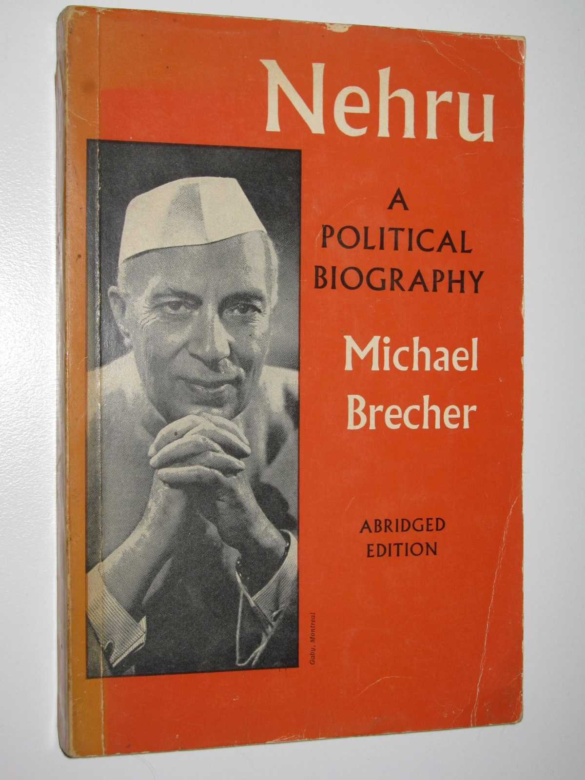 Image for Nehru: A Political Biography