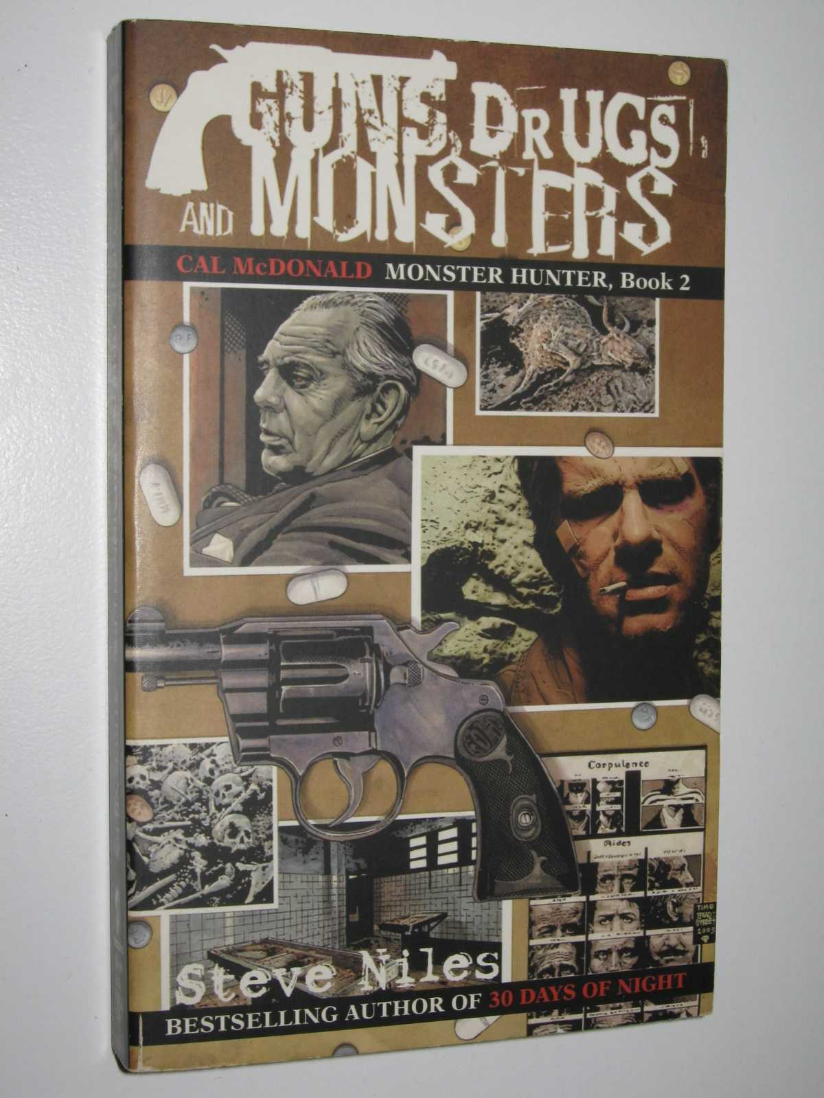 Image for Guns, Drugs, and Monsters - Cal McDonald, Monster Hunter Series #2