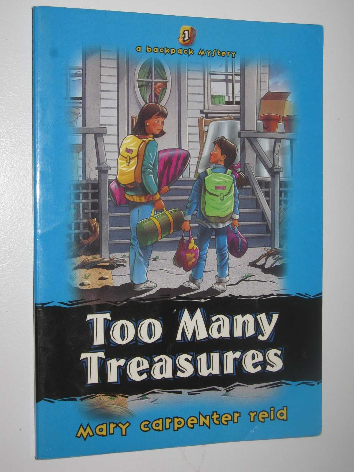 Image for Too Many Treasures - Backpack Mysteries Series #1