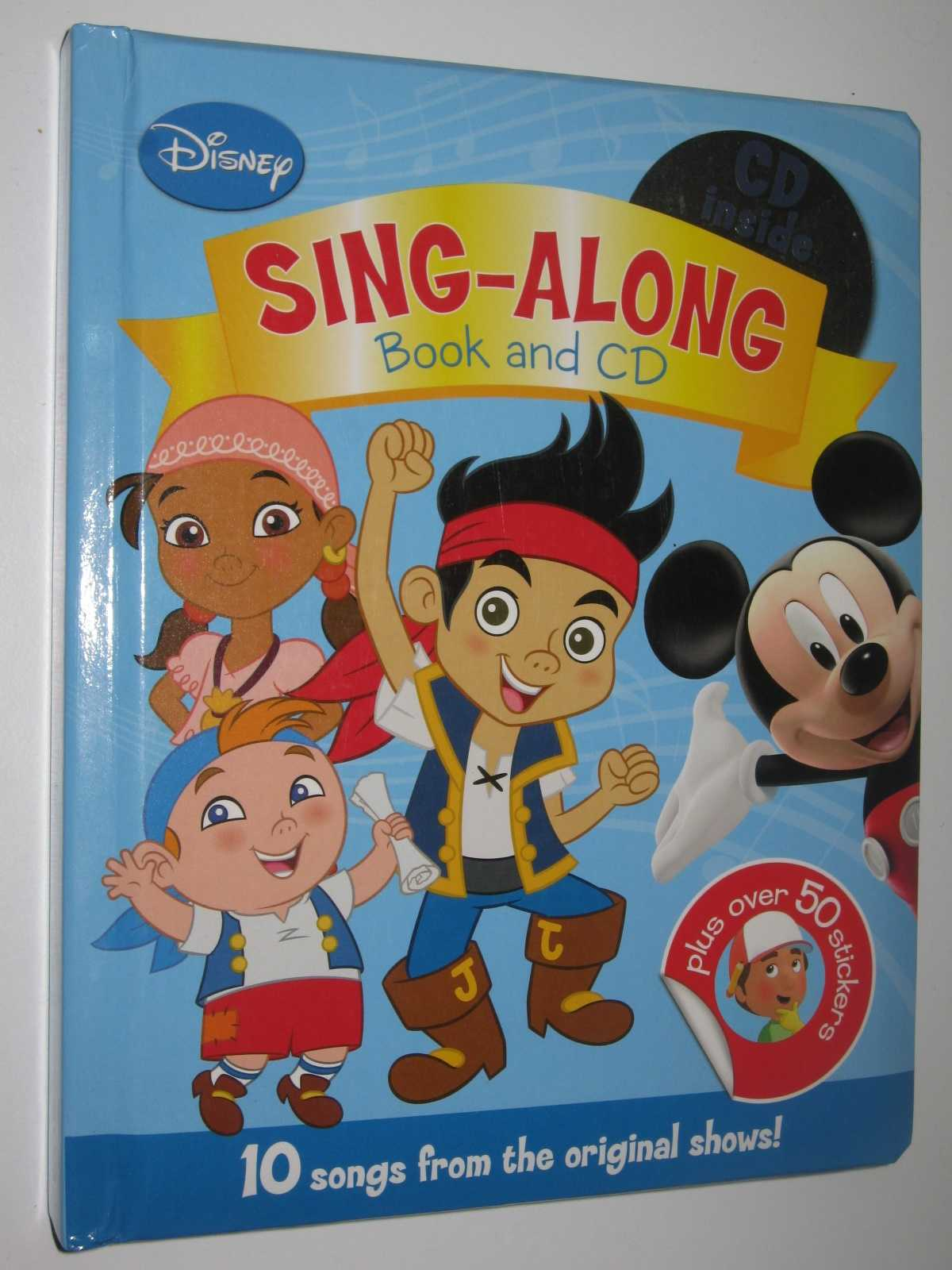 Image for Disney Sing-Along Book and CD