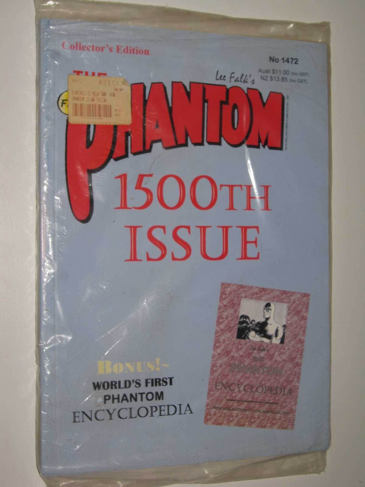 Image for The Phantom #1472, 1500th Issue + The Phantom Encyclopedia