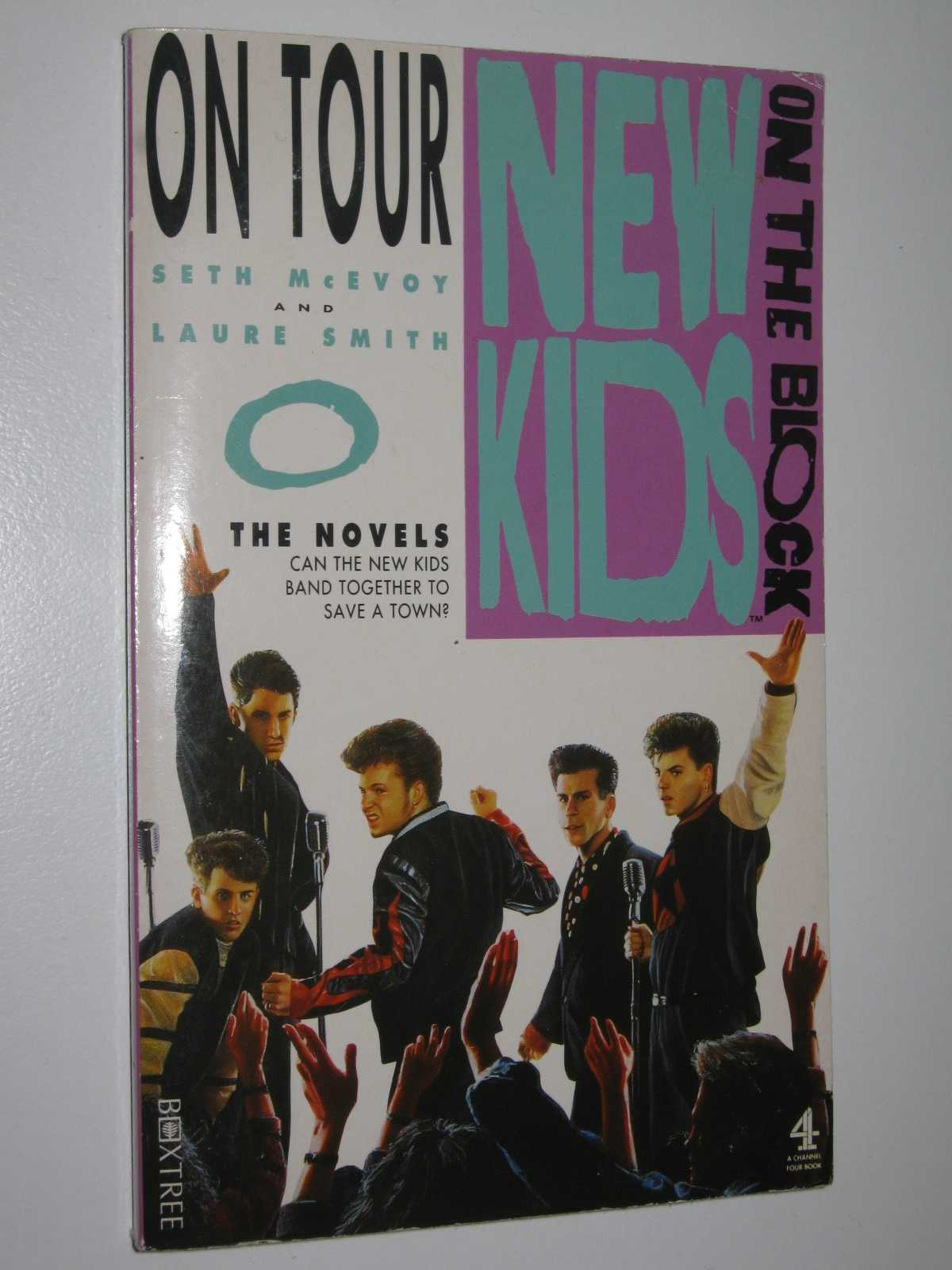 Image for On Tour - New Kids on the Block Novel