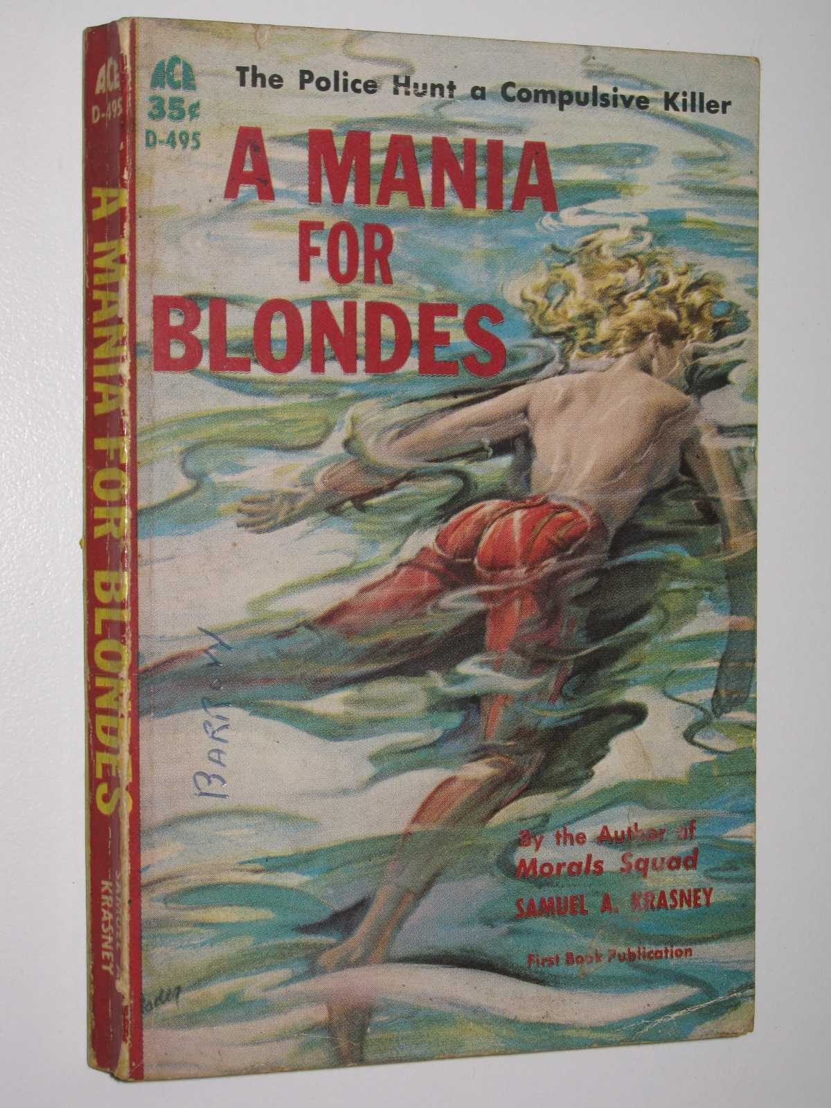 Image for A Mania for Blondes