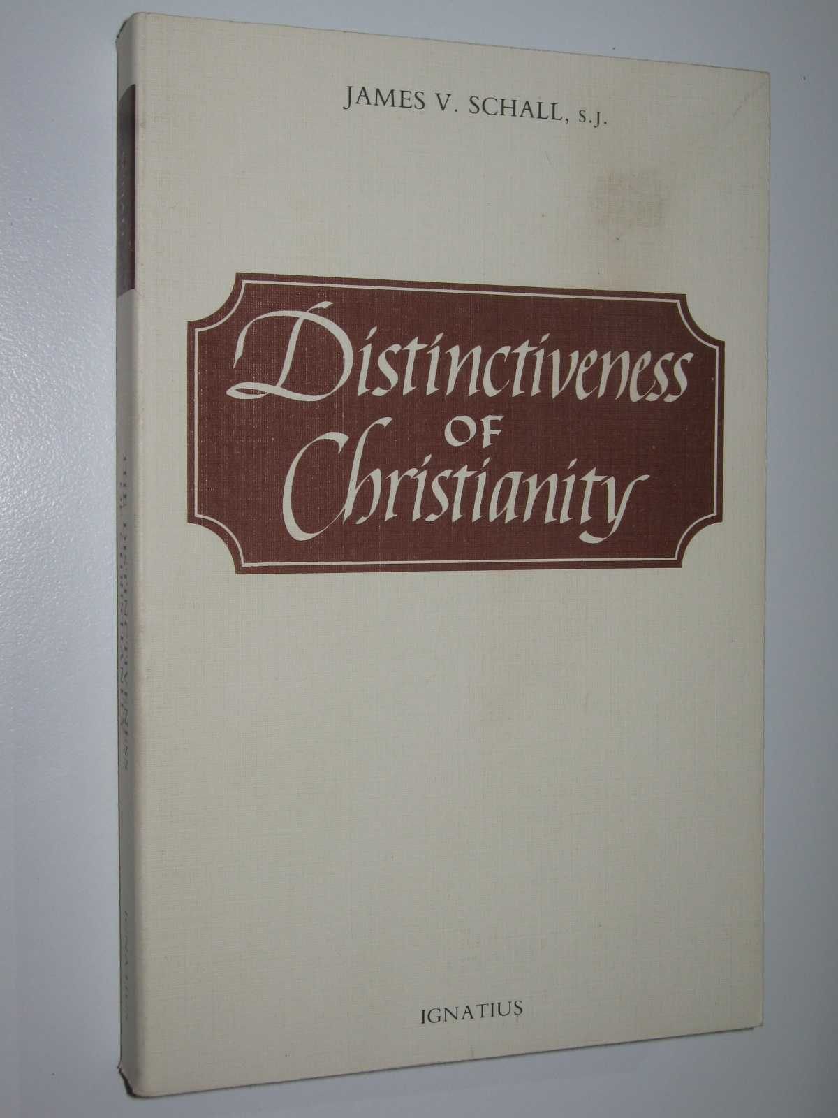 Image for Distinctiveness of Christianity